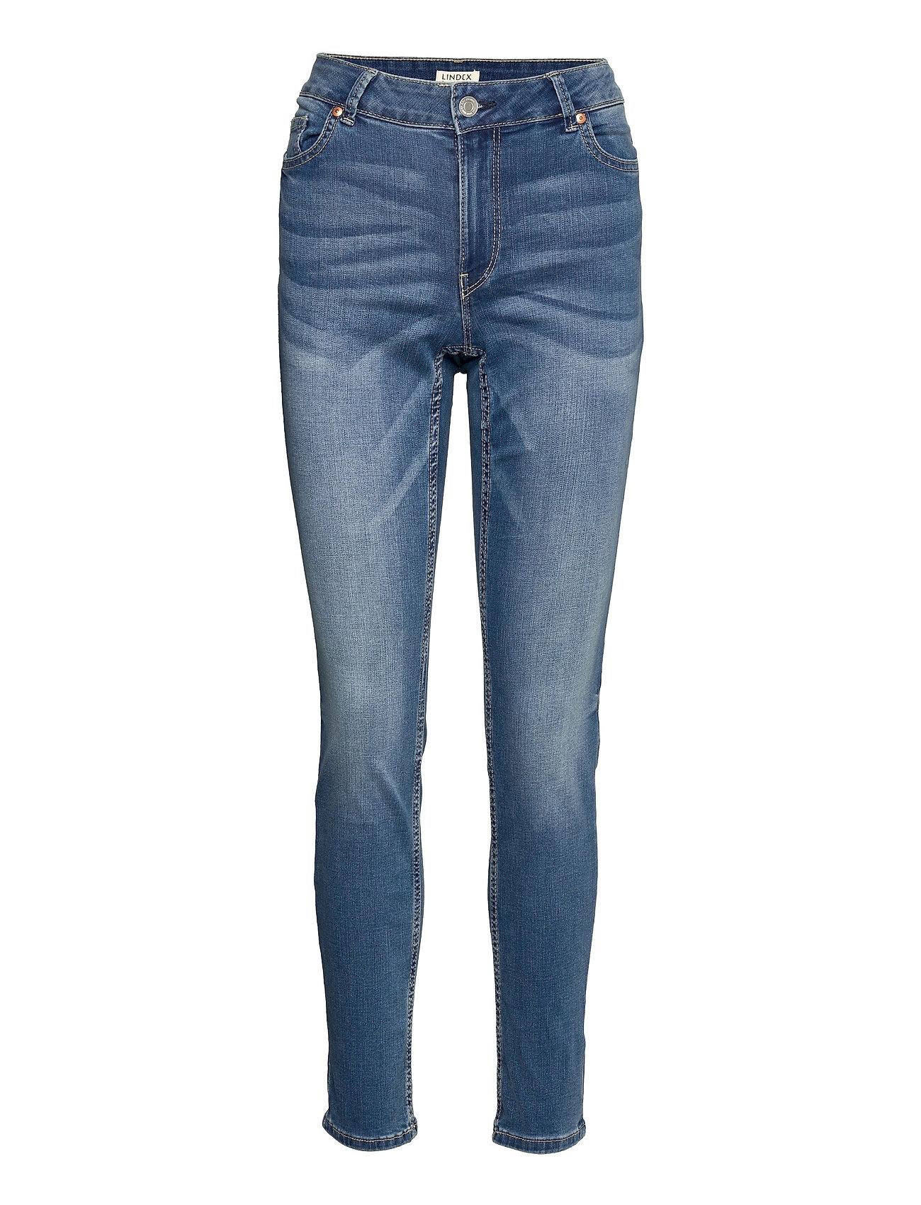 Trousers Denim Tova Soft Blue Slim Jeans Blå Lindex