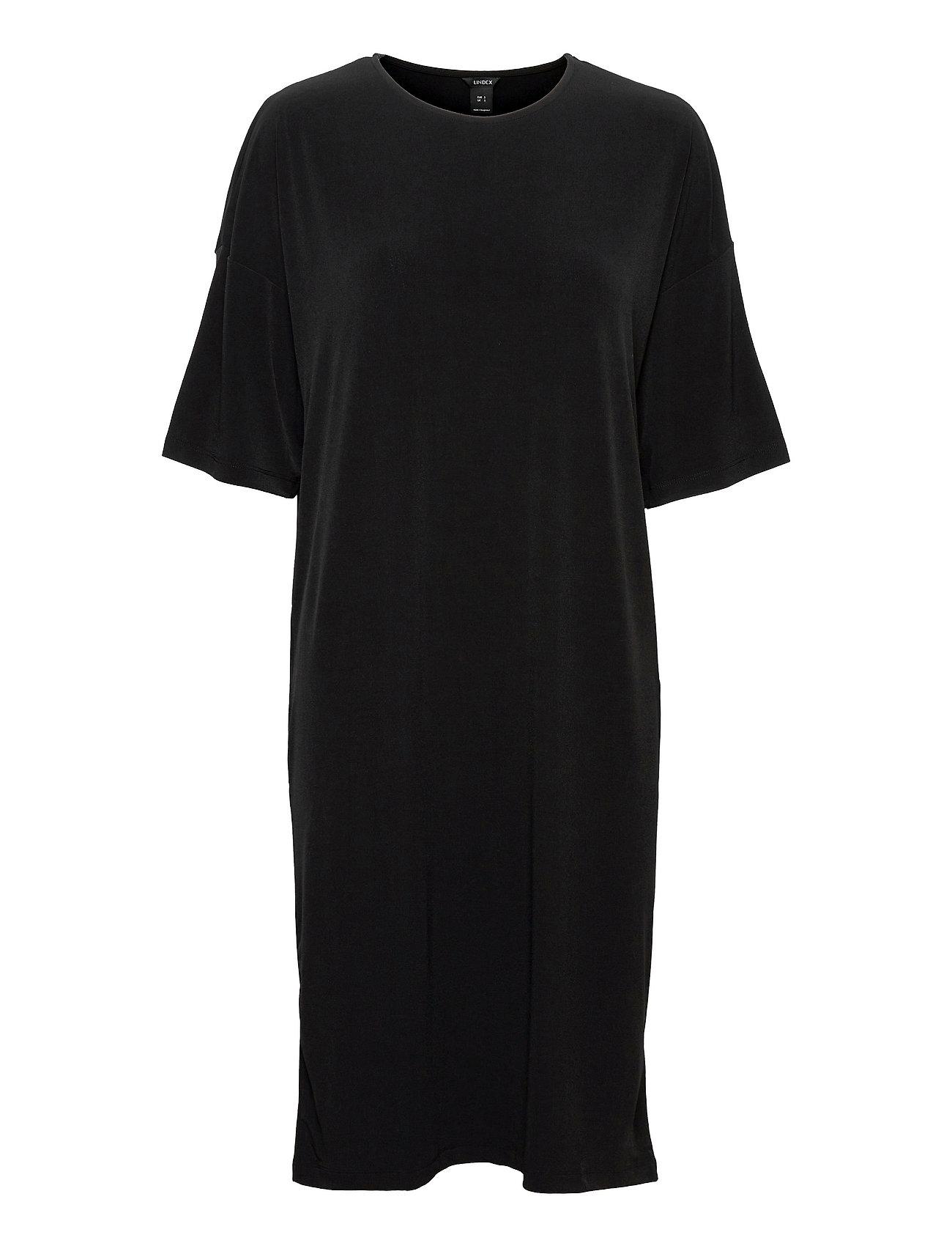 Dress Jenna Dresses T-shirt Dresses Sort Lindex
