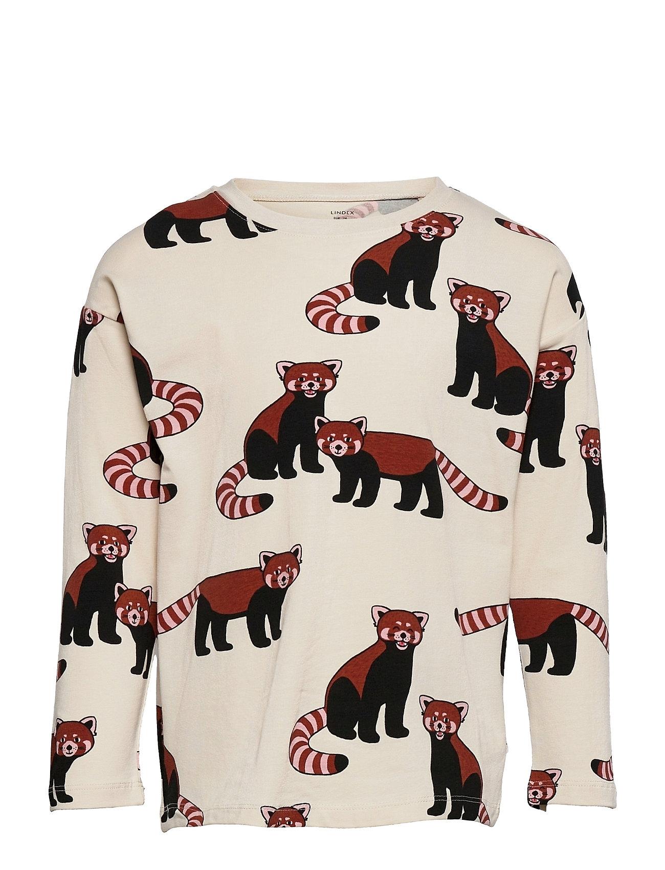 Top Red Panda Aop Langærmet T-shirt Multi/mønstret Lindex