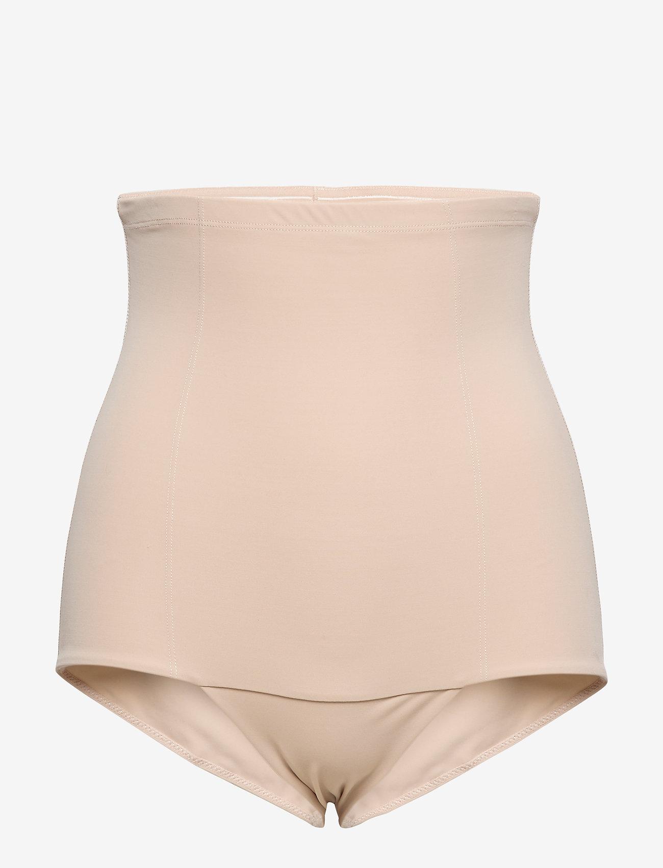 Lindex - Girdle Highwaist Britney - bottoms - beige - 0