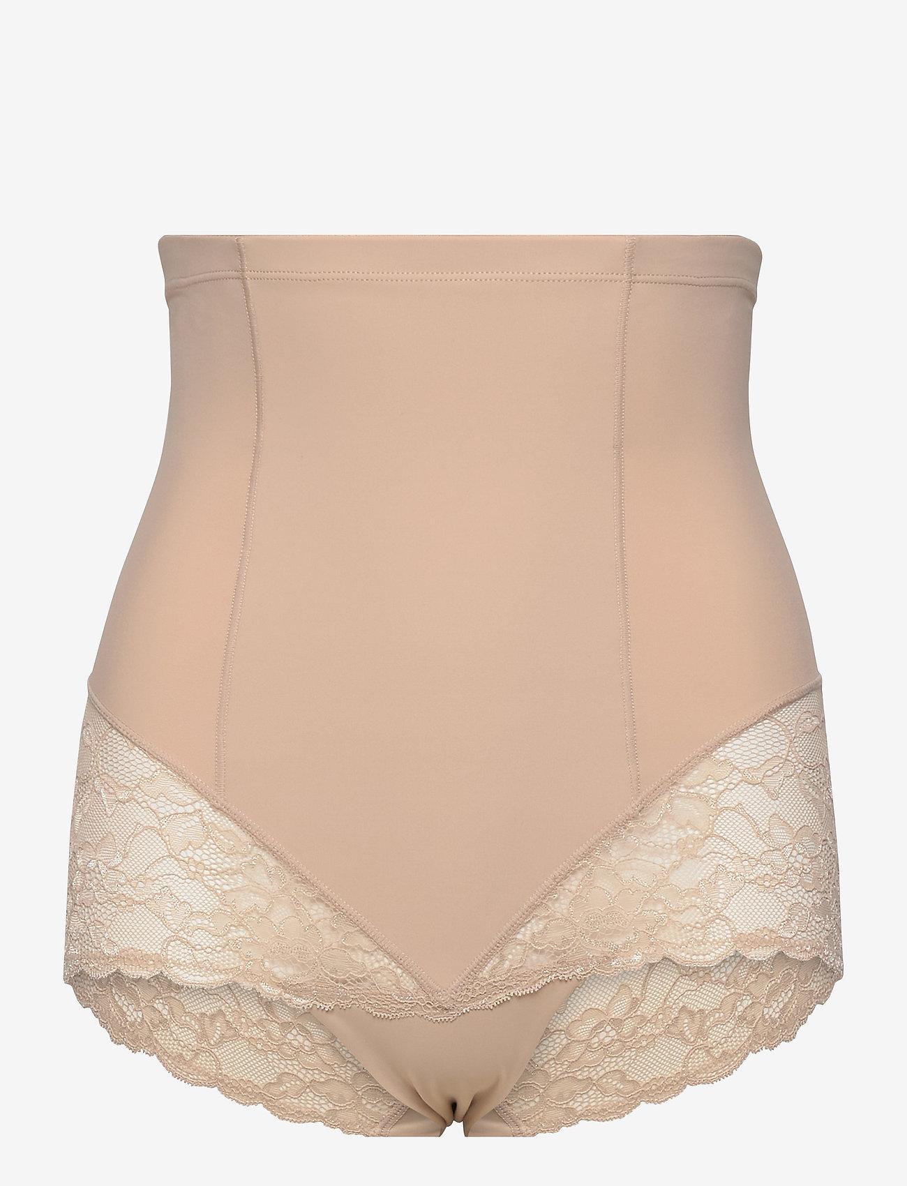 Lindex - Girdle Highwaist Kim Lace - bottoms - beige - 0