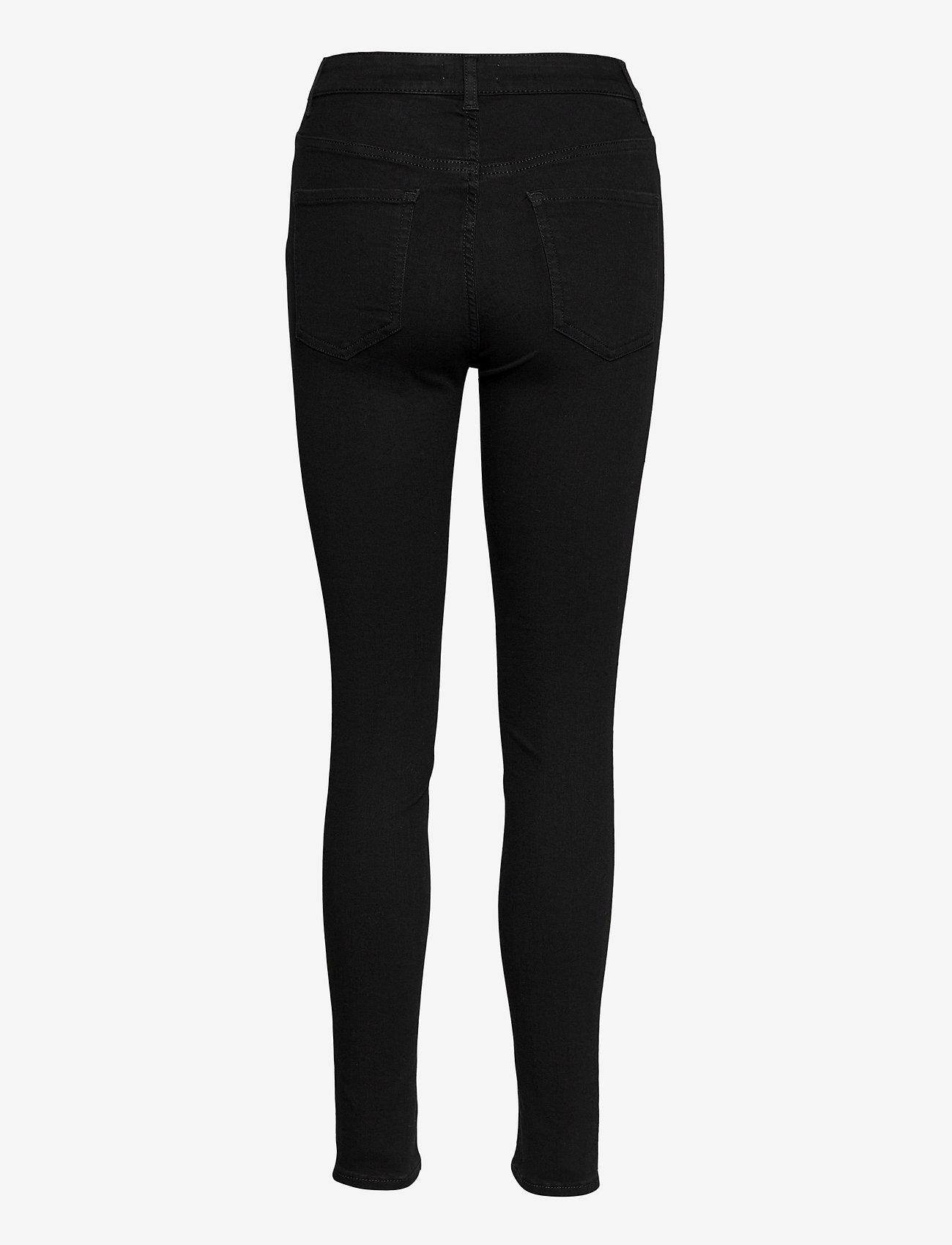 Lindex - Trs denim Vera HW black - skinny jeans - black - 1