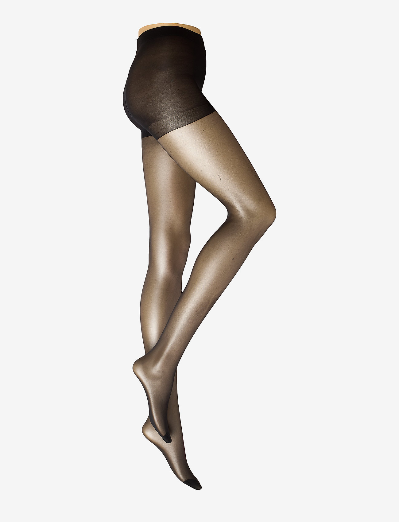 Lindex - Tights 20den light shaping - panty's - black - 0