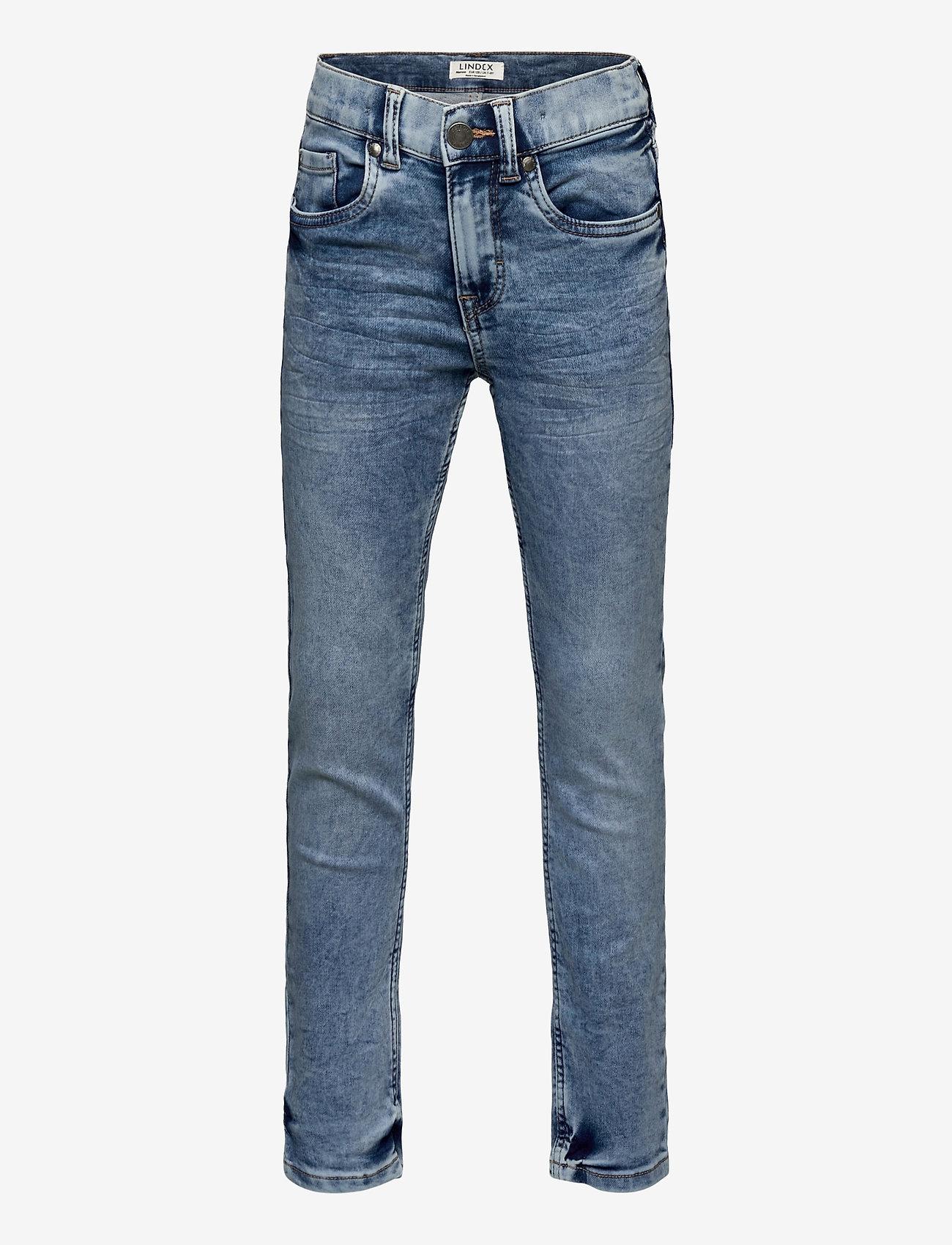Lindex - Trousers Denim Jordan jersey - jeans - light denim - 0