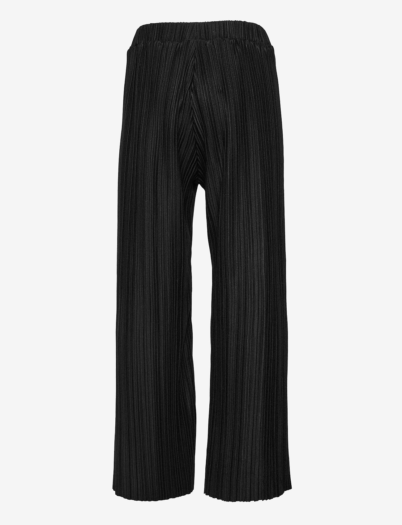Lindex - Trousers Pamela plissee - trousers - black - 1