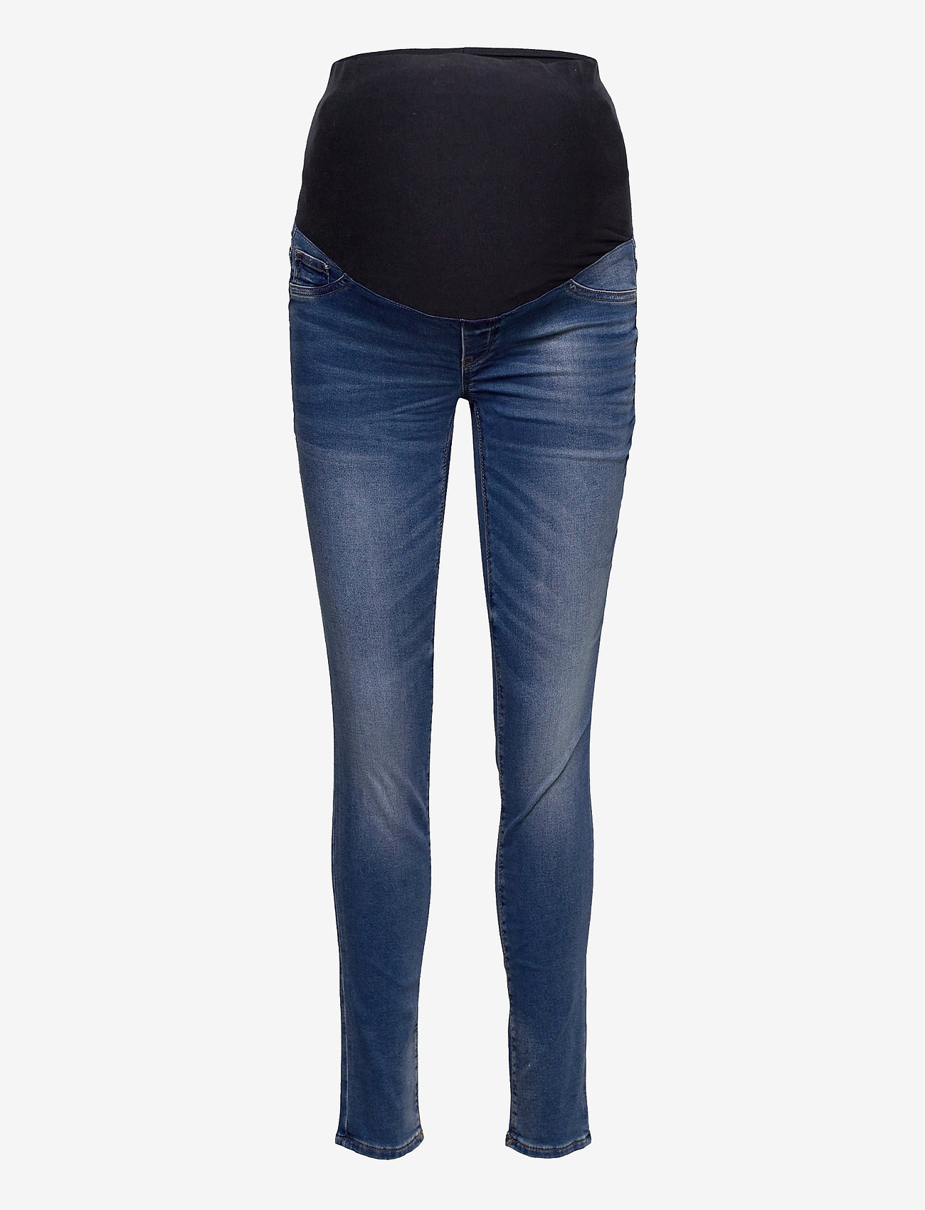 Lindex - Trousers MOM Dolly tricot - mom jeans - blue - 0
