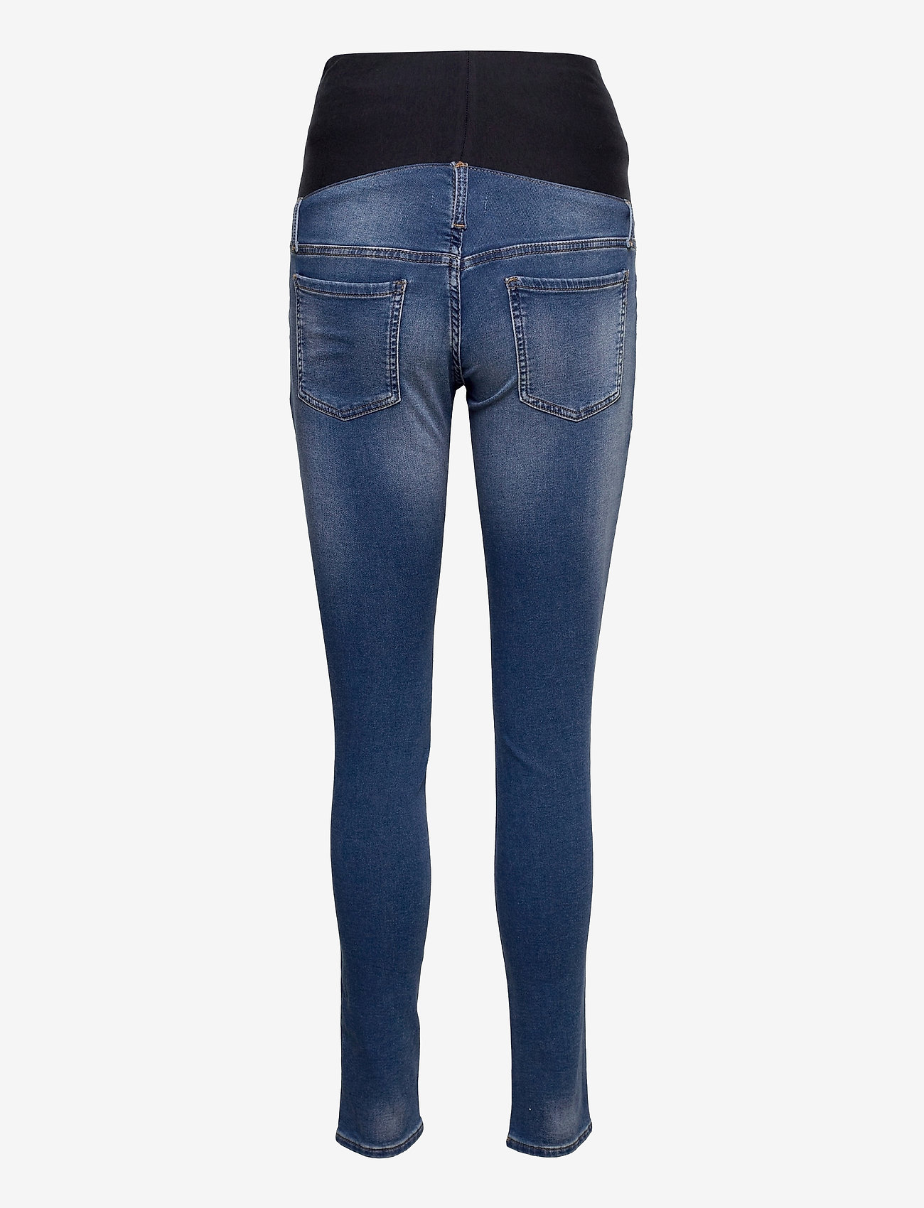 Lindex - Trousers MOM Dolly tricot - mom jeans - blue - 1
