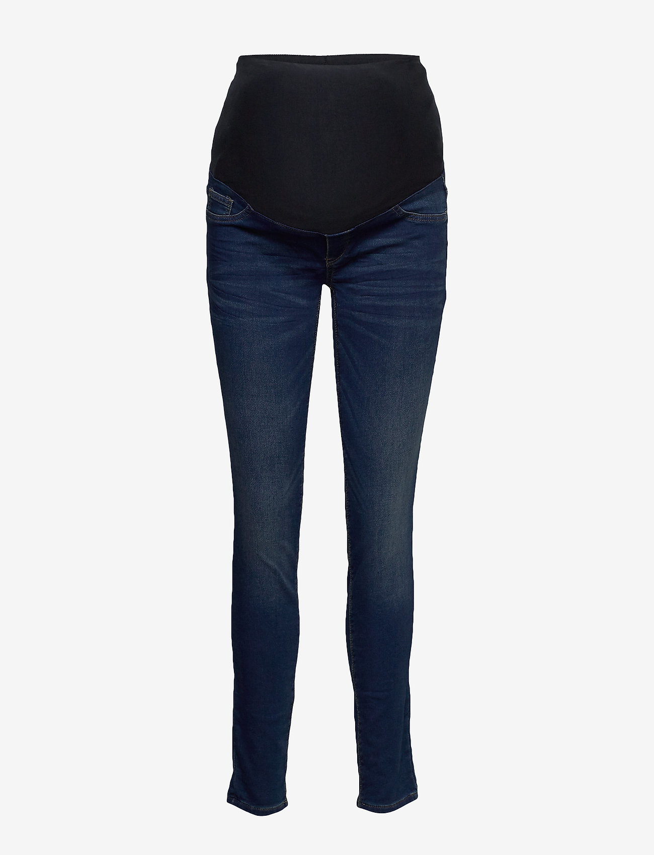 Lindex - Trousers MOM Dolly tricot - mom jeans - denim - 0