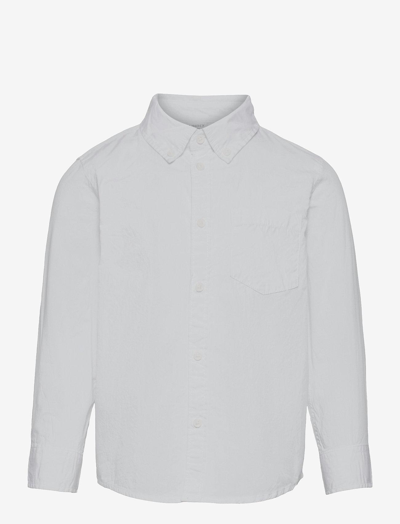 Lindex - Shirt White - shirts - white - 0