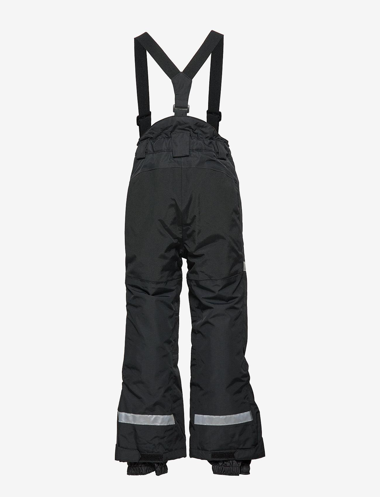 Lindex - FIX Black ski trousers with braces - schneehose - black - 1