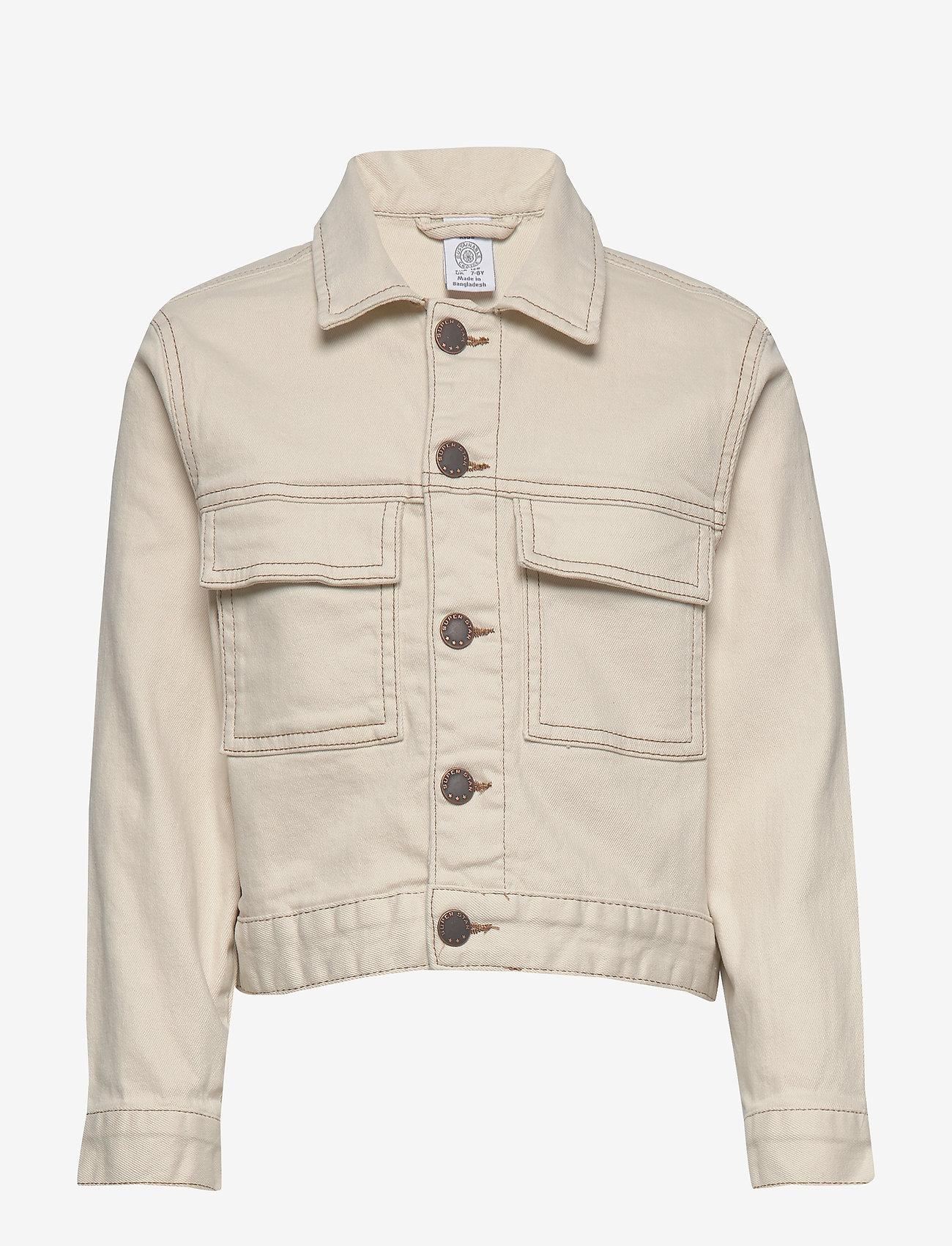 Lindex - Jacket twill Ester - denimjakker - lt beige - 0