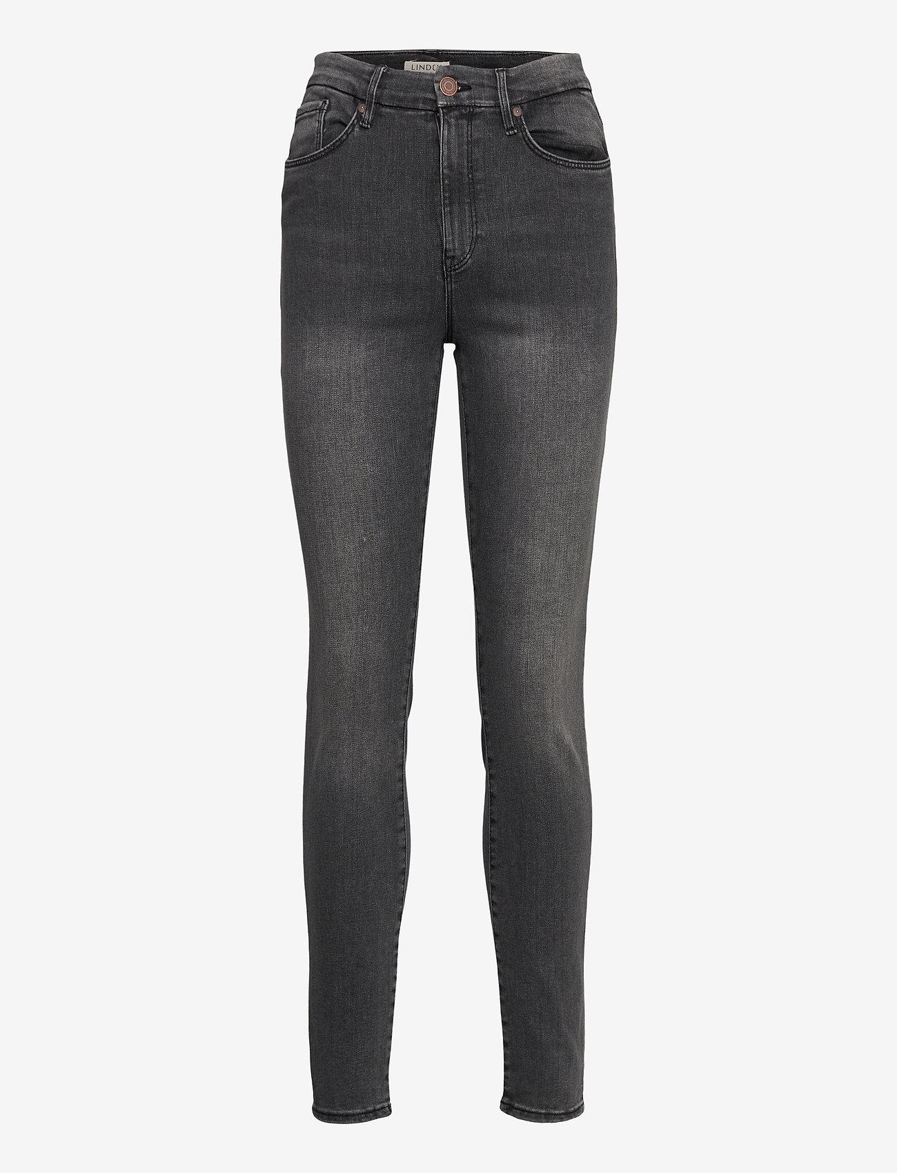 Lindex - Trousers denim Clara black - skinny jeans - black - 0