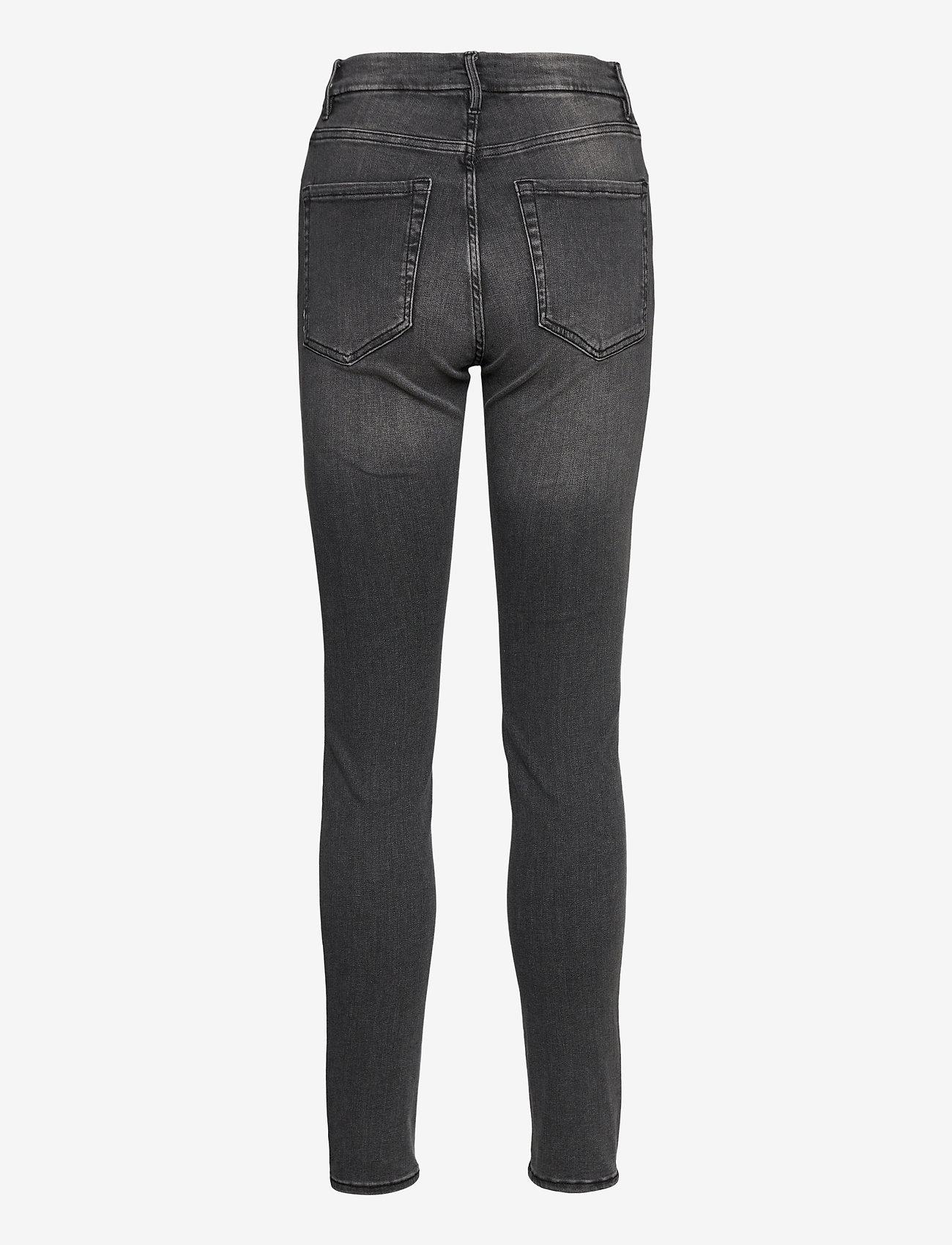 Lindex - Trousers denim Clara black - skinny jeans - black - 1