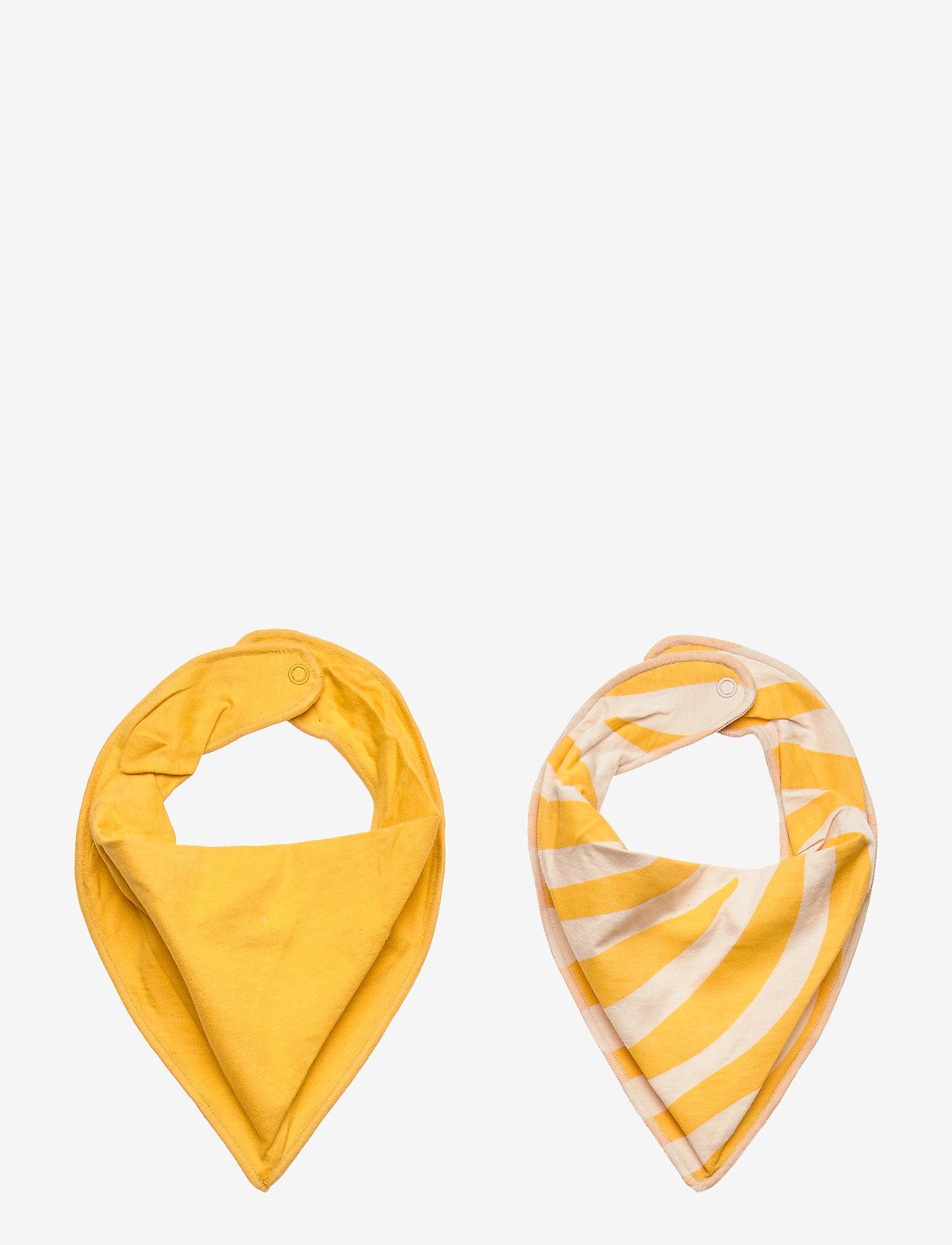 Lindex - Indoor Scarf - winterkleding - dark dusty yellow - 0