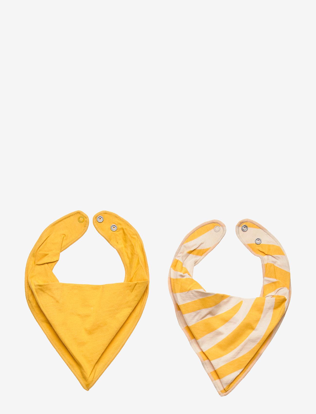 Lindex - Indoor Scarf - winterkleding - dark dusty yellow - 1