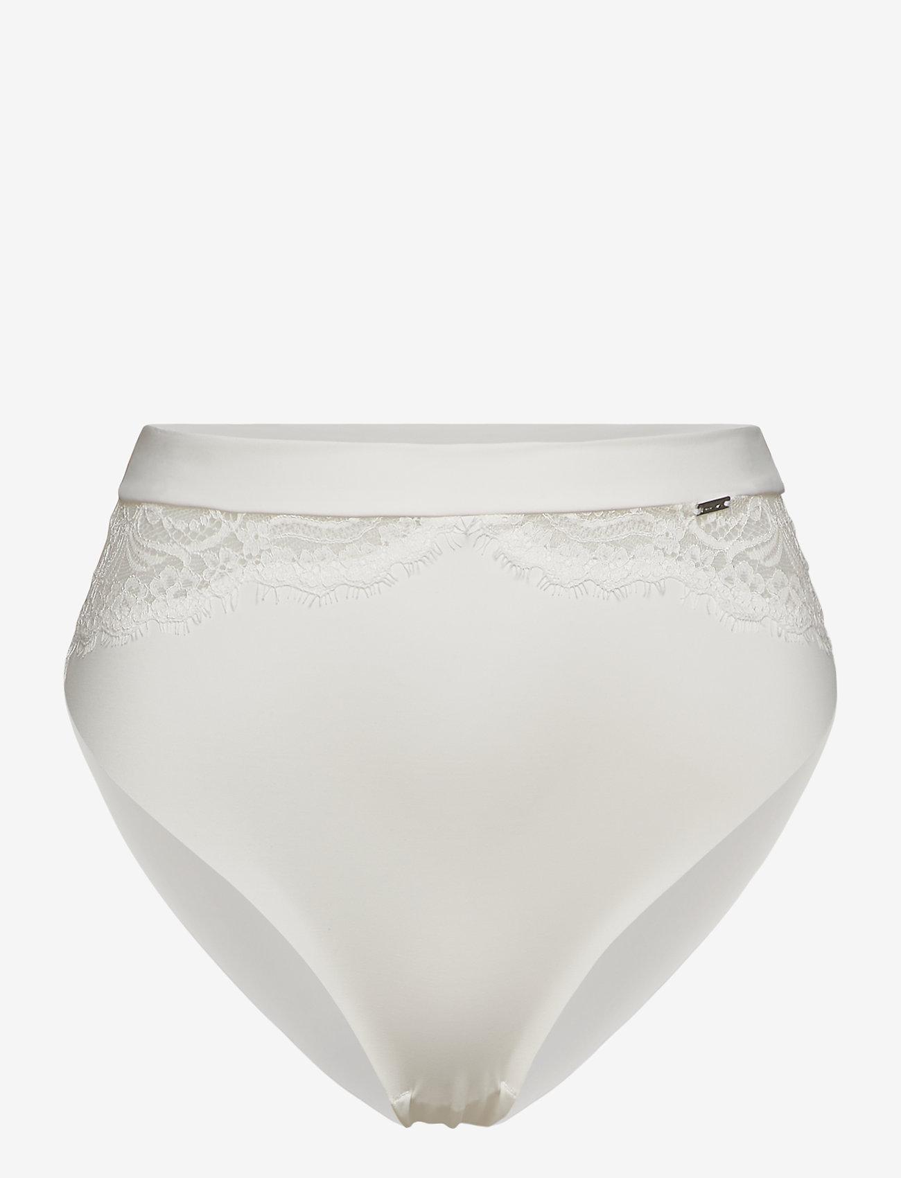 Lindex - Brief Thong high Smilla - broekjes - light white - 0