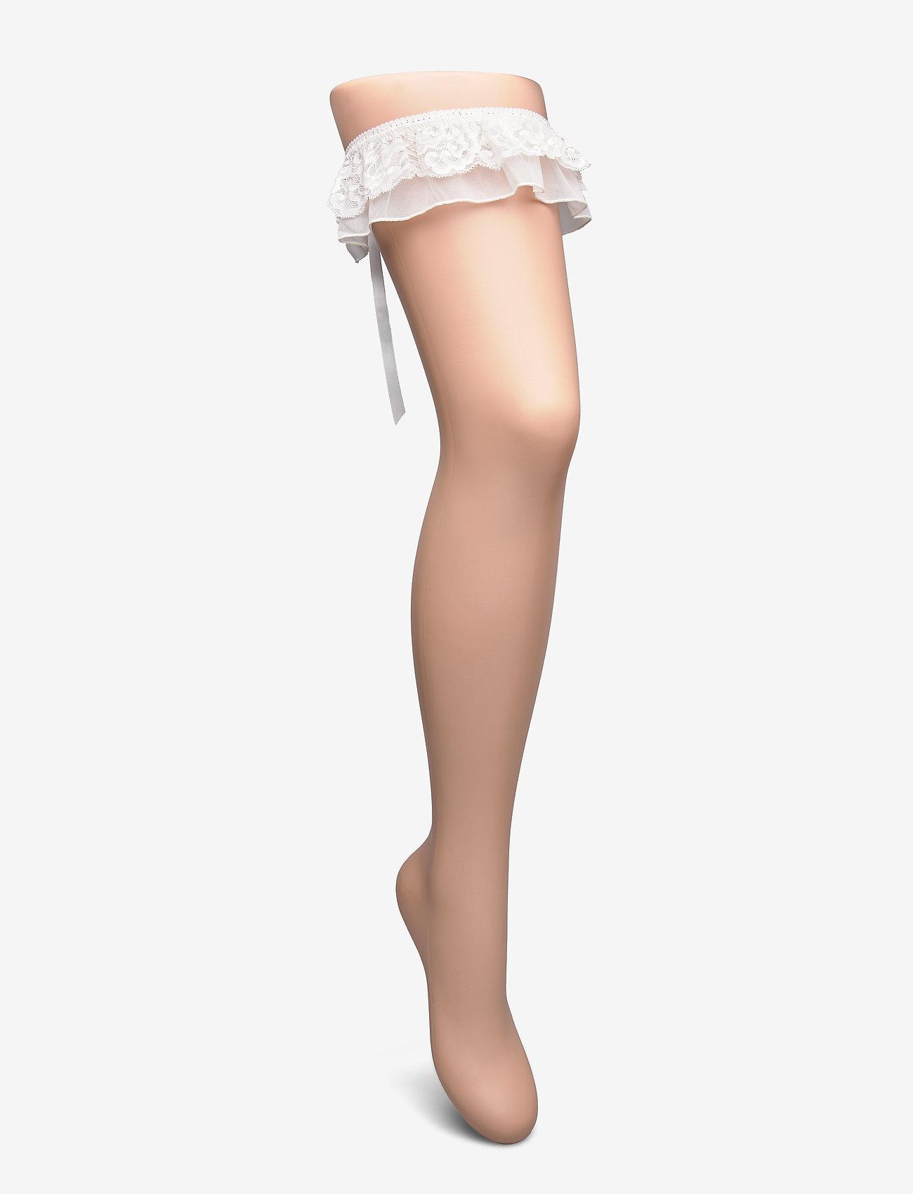 Lindex - Garter Sophie - akcesoria - light white - 0