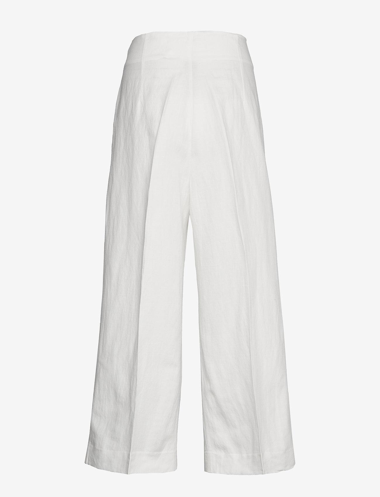 Lindex Trousers Lykke Sailor - Spodnie OFF WHITE - Kobiety Odzież.