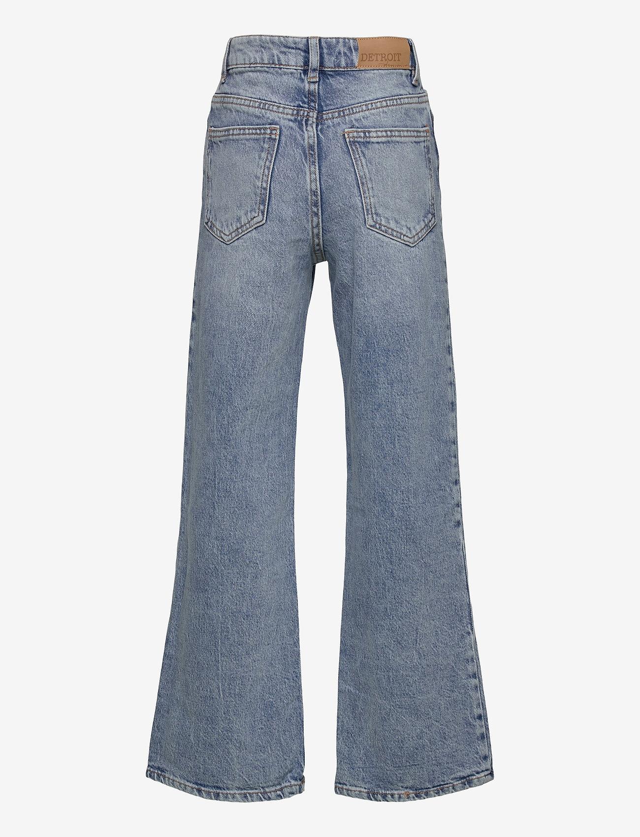 Lindex - Trousers denim Vanja washed bl - jeans - blue - 1
