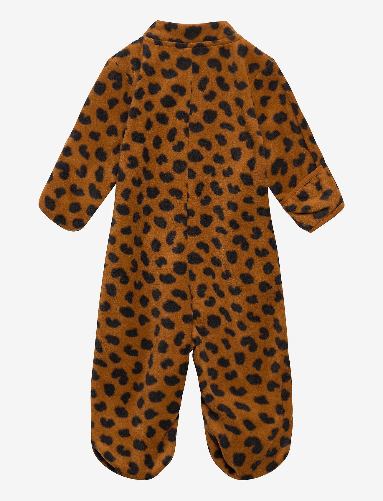Lindex - Overall fleece - fleecetøj - brown - 1