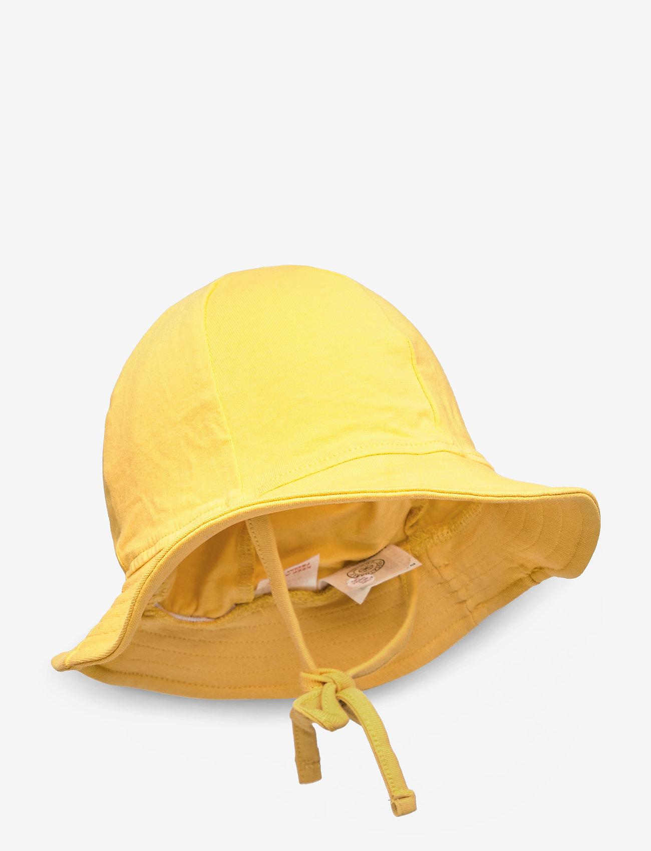 Lindex - Headgear - kapelusz przeciwsłoneczny - dark dusty yellow - 0