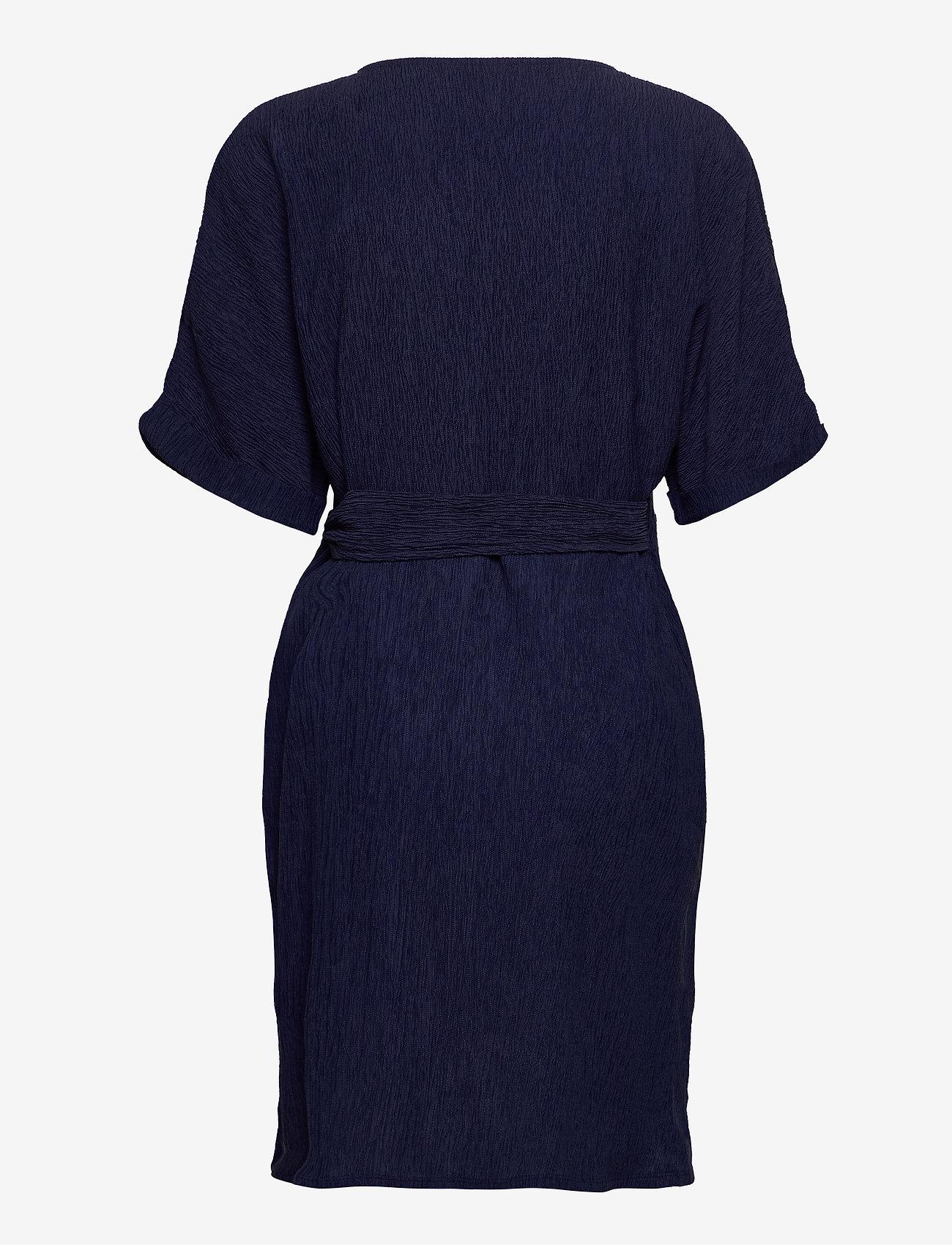 Lindex - Tunic Lisa - tuniques - dark dusty blue - 1