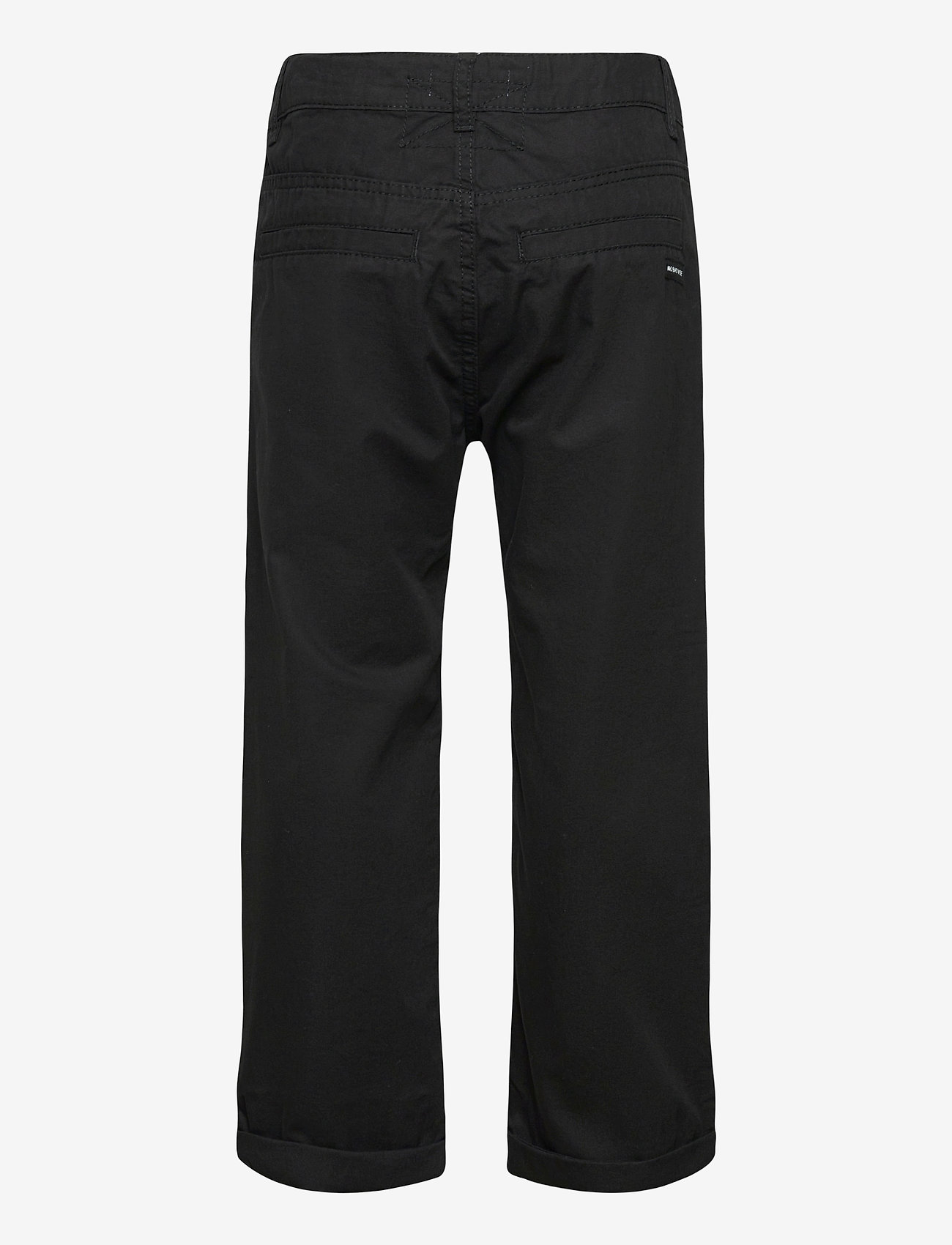 Lindex - Trousers chinos skatefit - trousers - black - 1