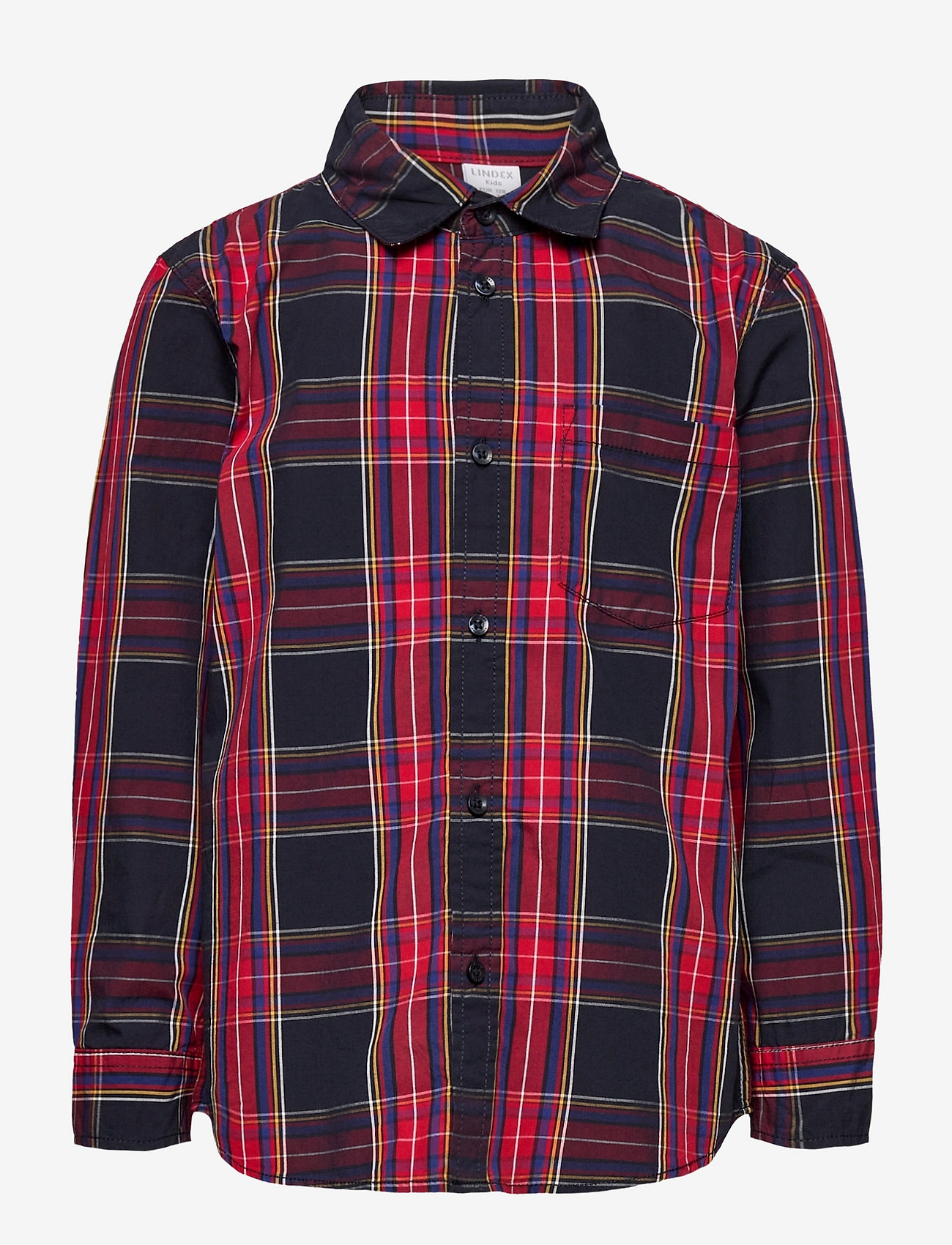 Lindex - Shirt check party checks - overhemden - dark navy - 0