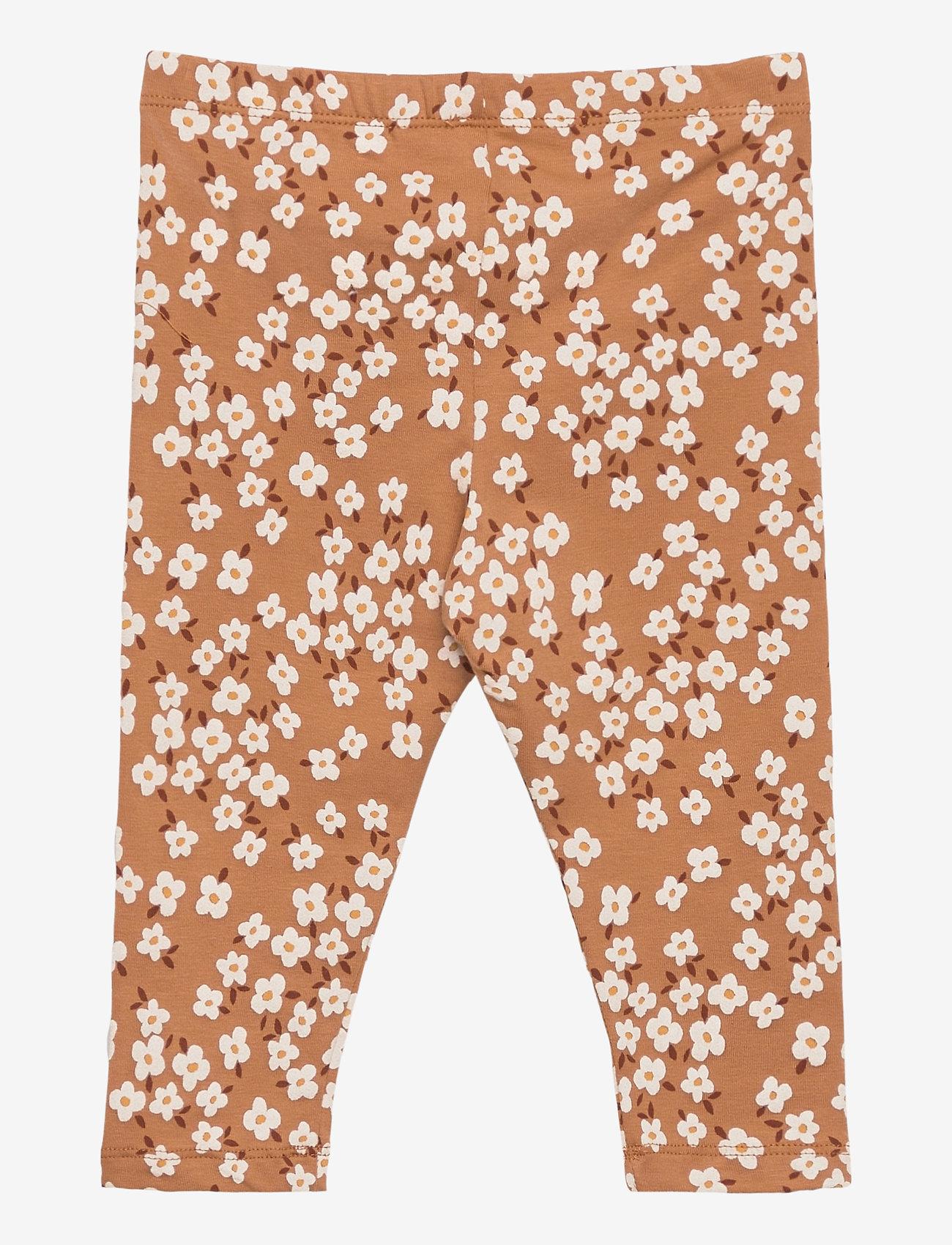 Leggings Aop Flower (Brown) (7.49 €) - Lindex GHwEK
