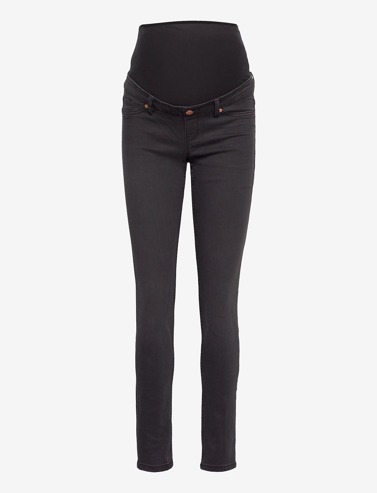 Lindex - Trs denim MOM Tova soft black - mom jeans - black - 0