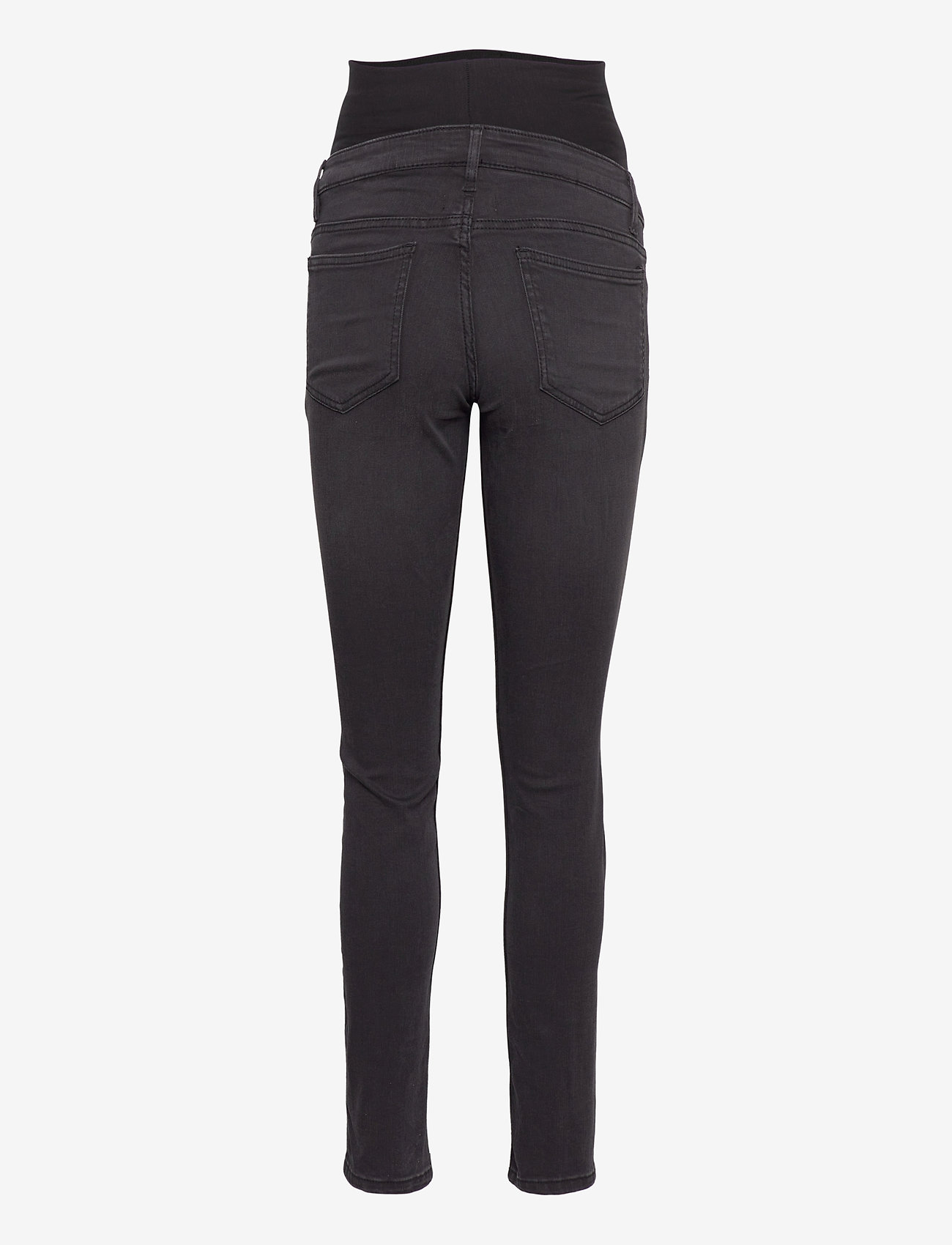 Lindex - Trs denim MOM Tova soft black - mom jeans - black - 1