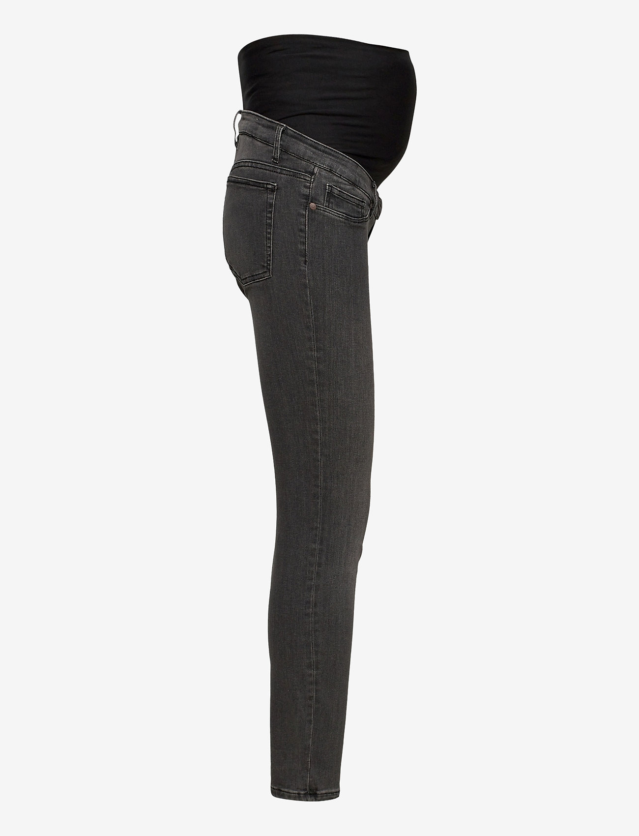 Lindex - Trousers denim  MOM Clara blac - skinny jeans - black - 3