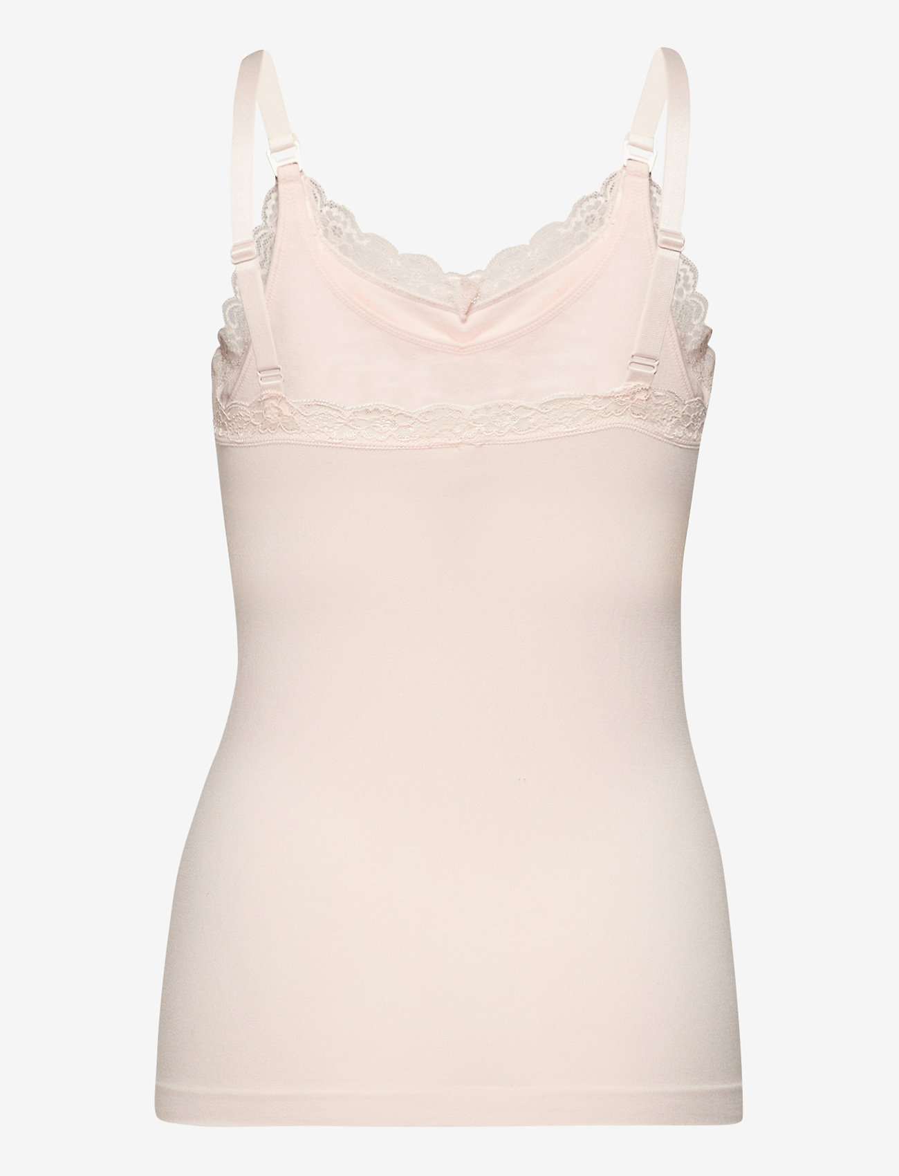 Lindex - Nursing Camisole Emelie Seamle - tops - white - 1