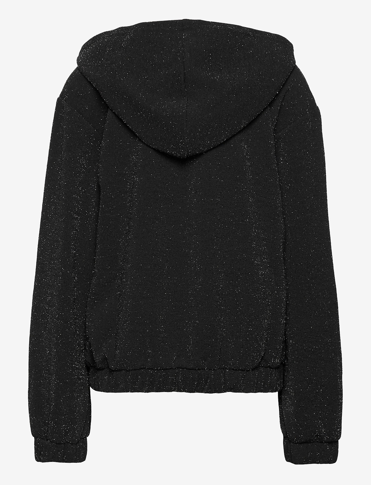 Lindex - Sweatshirt Hoodie Glamour - gilets - black - 1