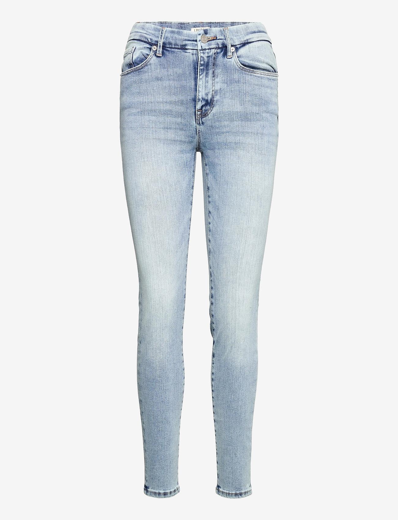 Lindex - Trousers denim Clara lt blue - slim jeans - blue - 0