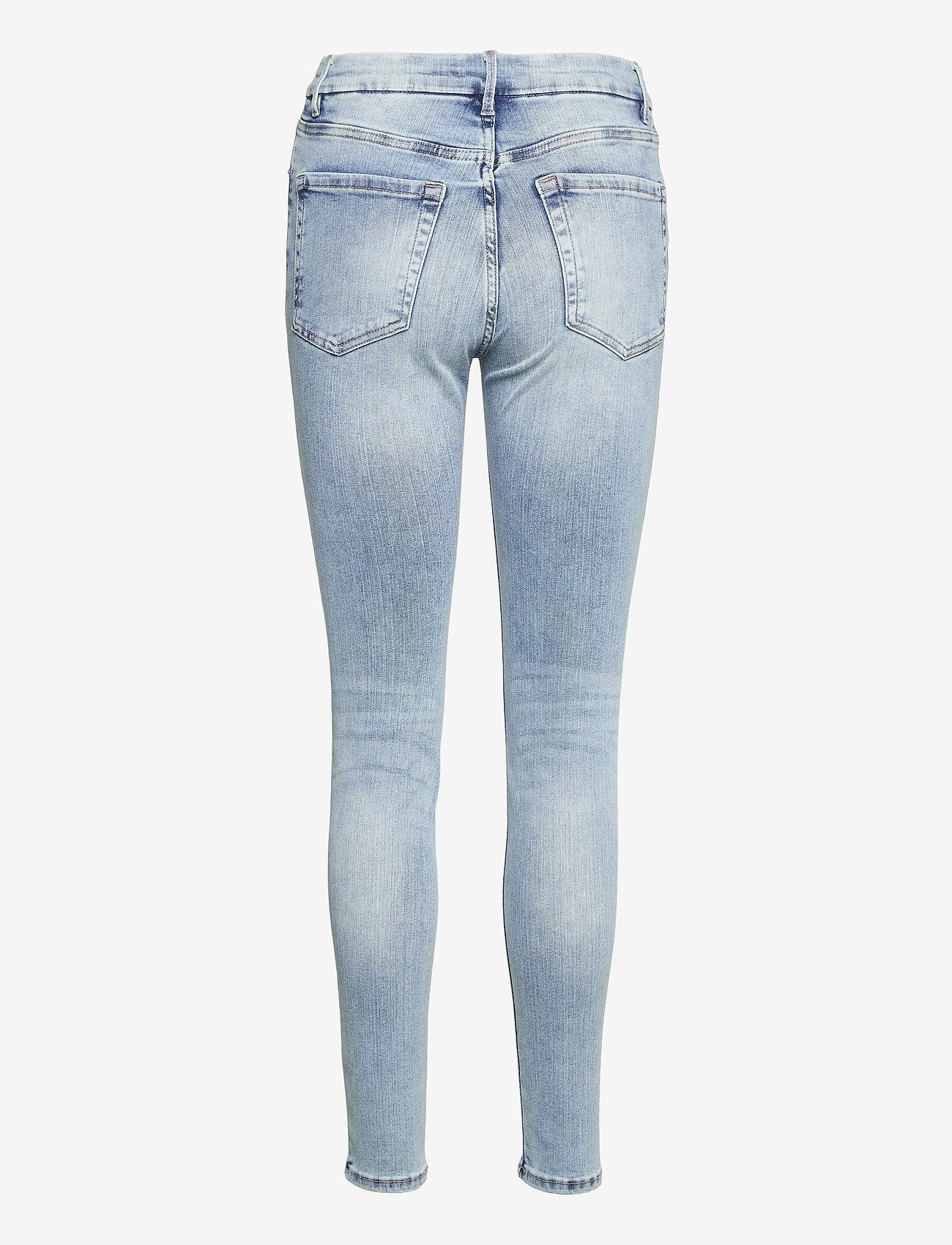 Lindex - Trousers denim Clara lt blue - slim jeans - blue - 1