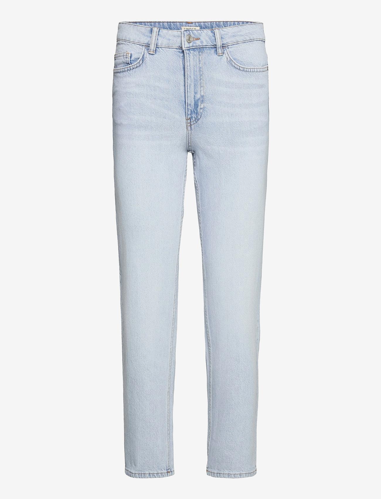 Lindex - Denim trousers Nea light blue - straight regular - blue - 0
