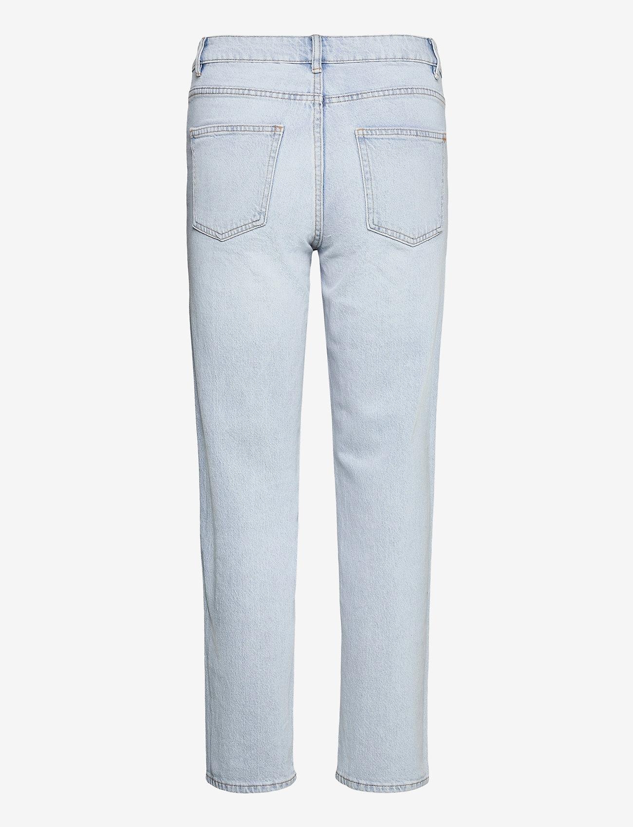 Lindex - Denim trousers Nea light blue - straight regular - blue - 1