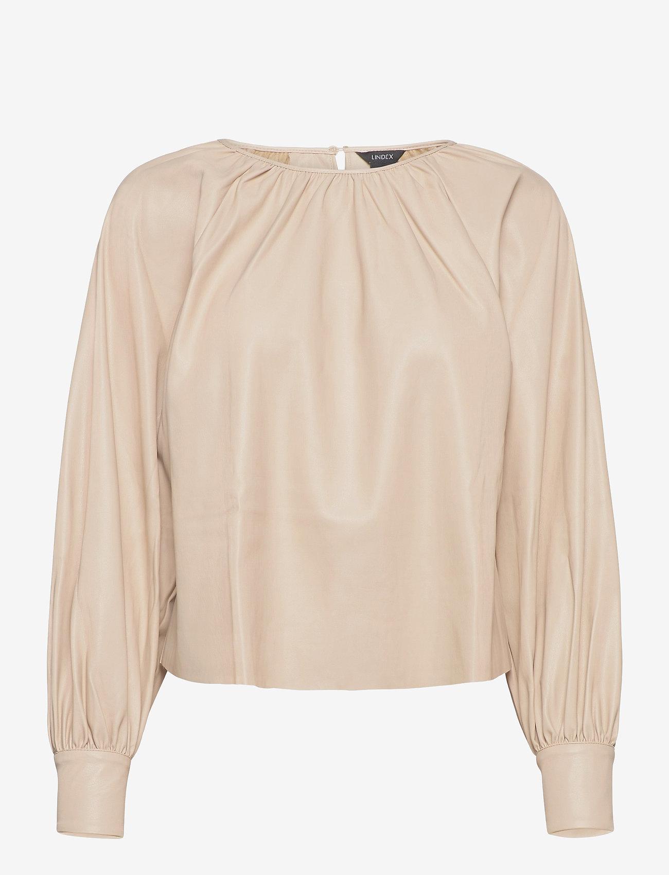 Lindex - Blouse Vanna - blouses à manches longues - beige - 0