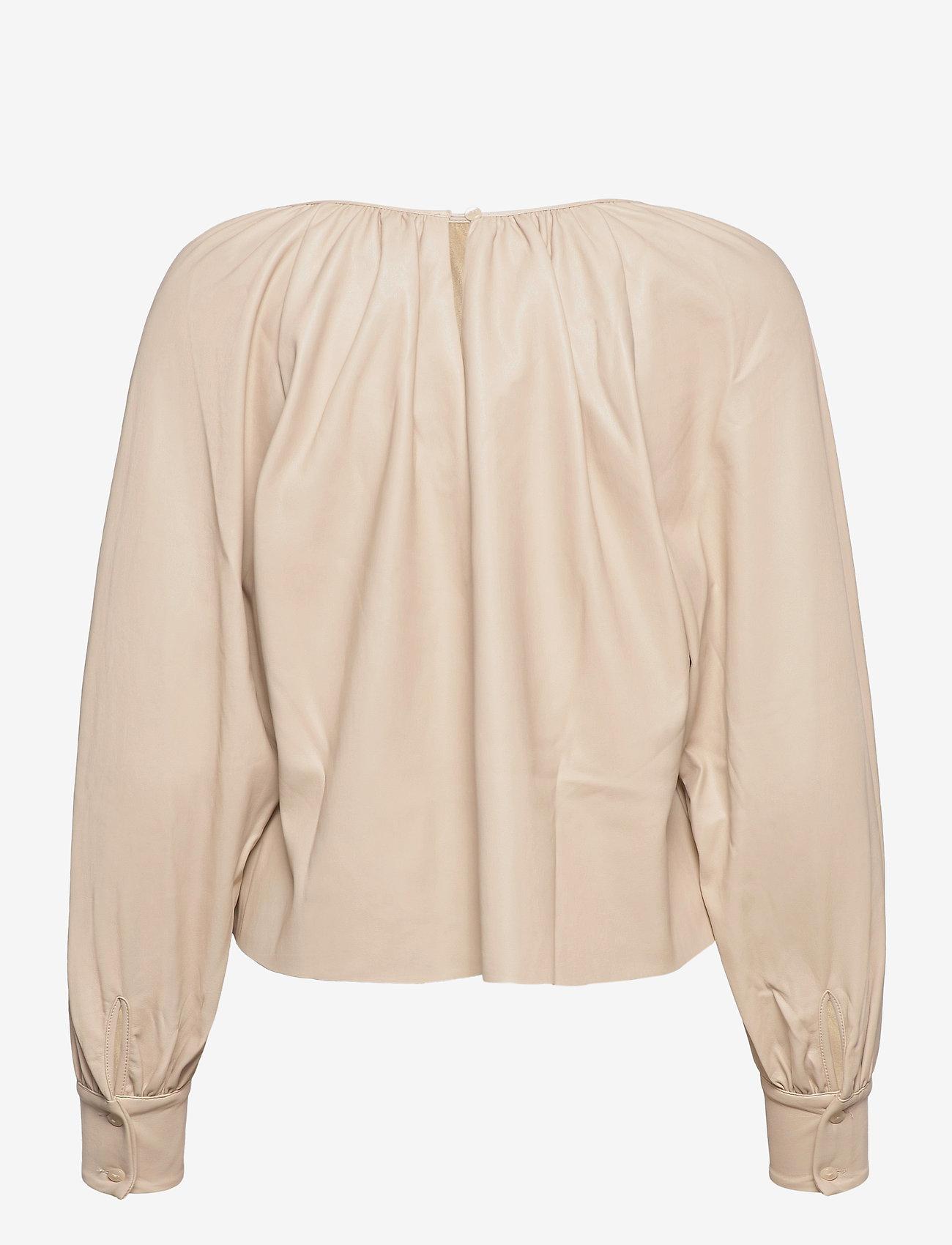Lindex - Blouse Vanna - blouses à manches longues - beige - 1