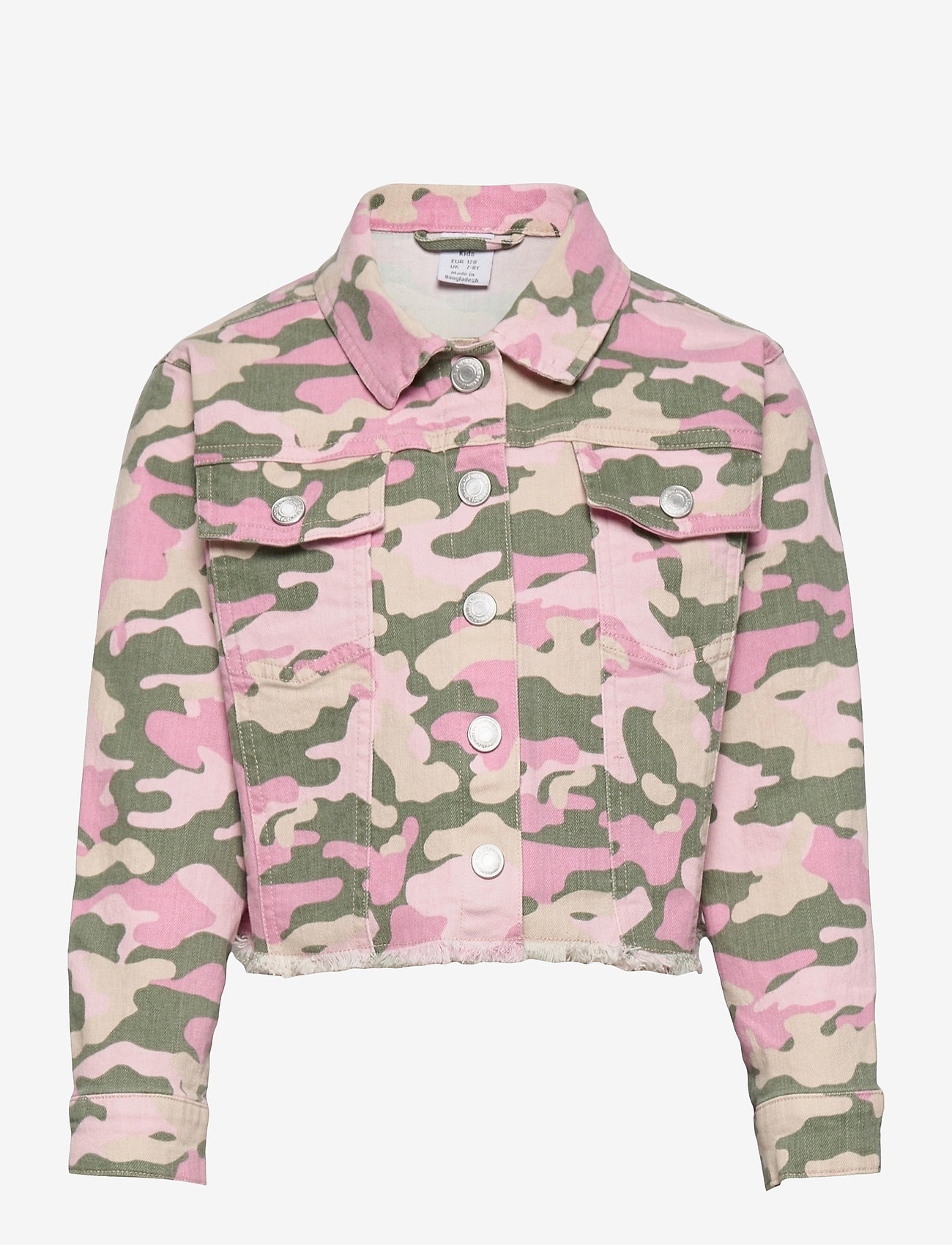 Lindex - Jacket twill Nasha - spijkerjassen - pink - 0