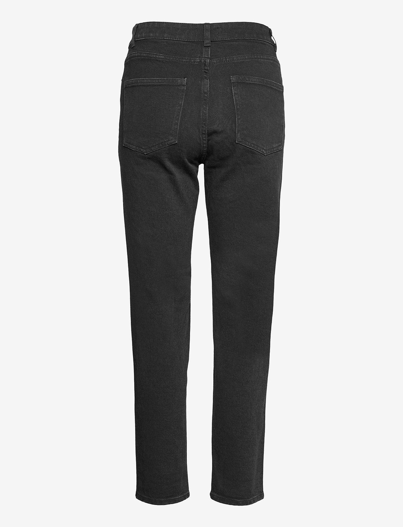 Lindex - Denim trousers Nea black - mom jeans - black - 1