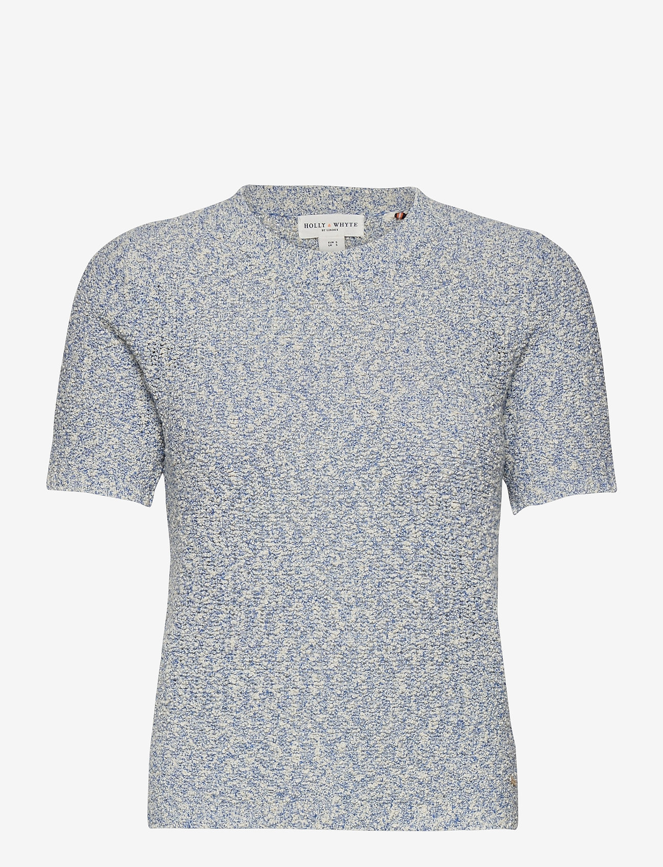 Lindex - Jumper Ninette - gebreide t-shirts - blue - 0