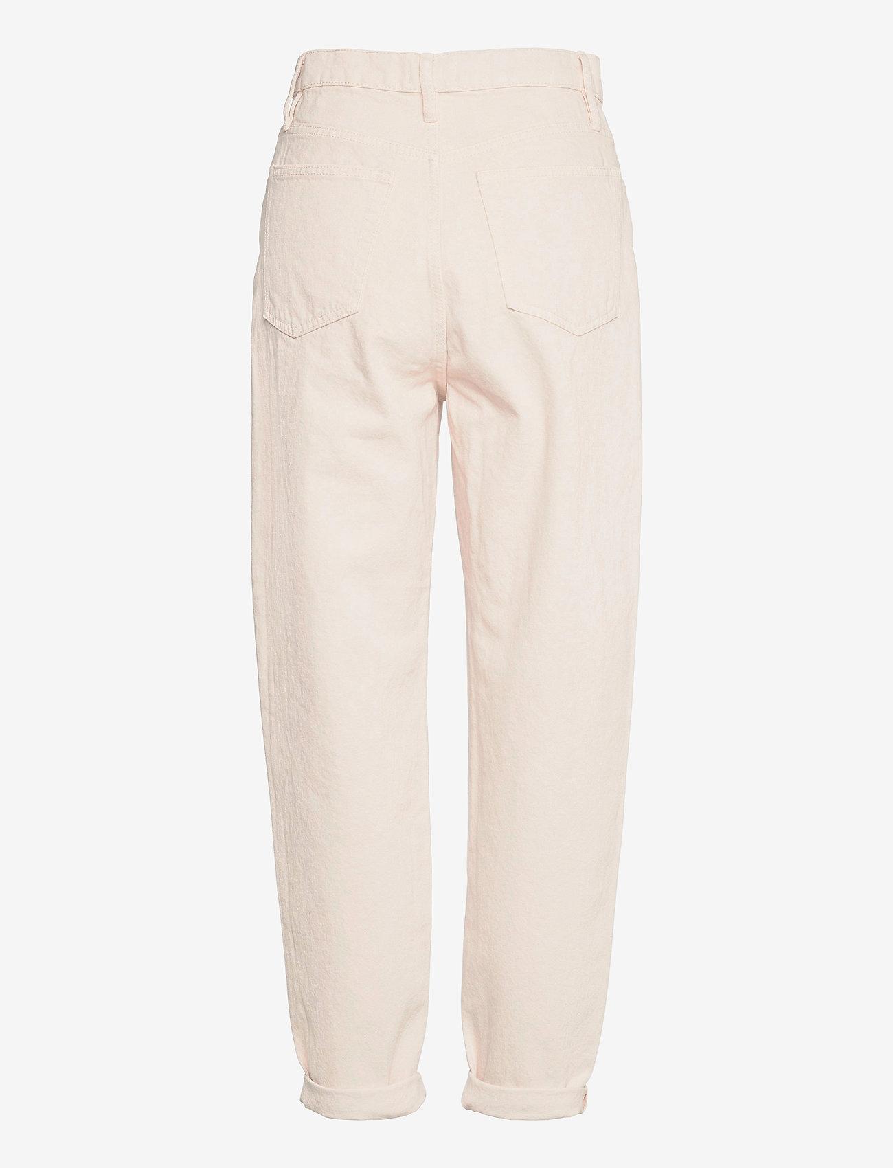 Lindex - Trousers denim Pam ecru - mom jeans - beige - 1