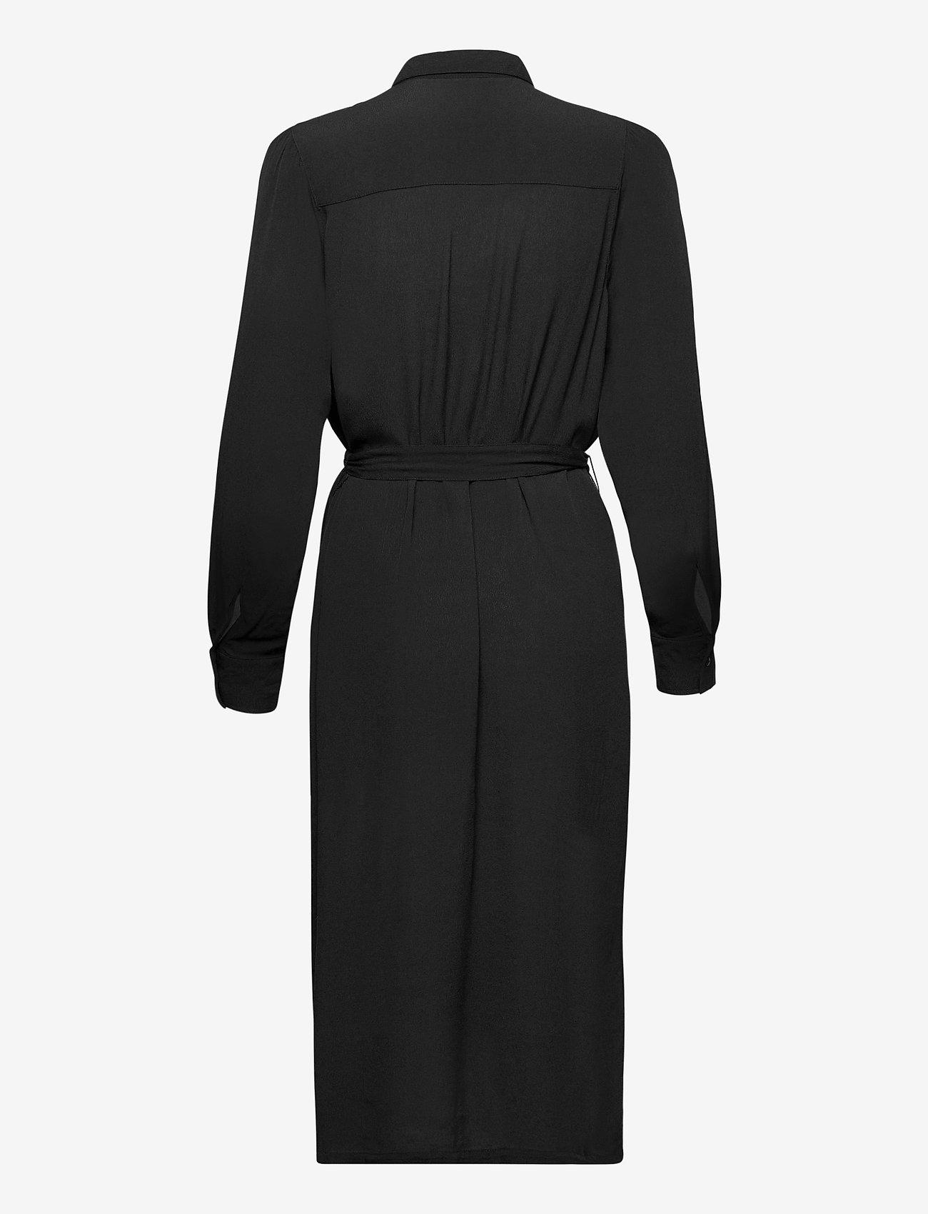 Lindex - Dress Daisy - midi jurken - black - 1