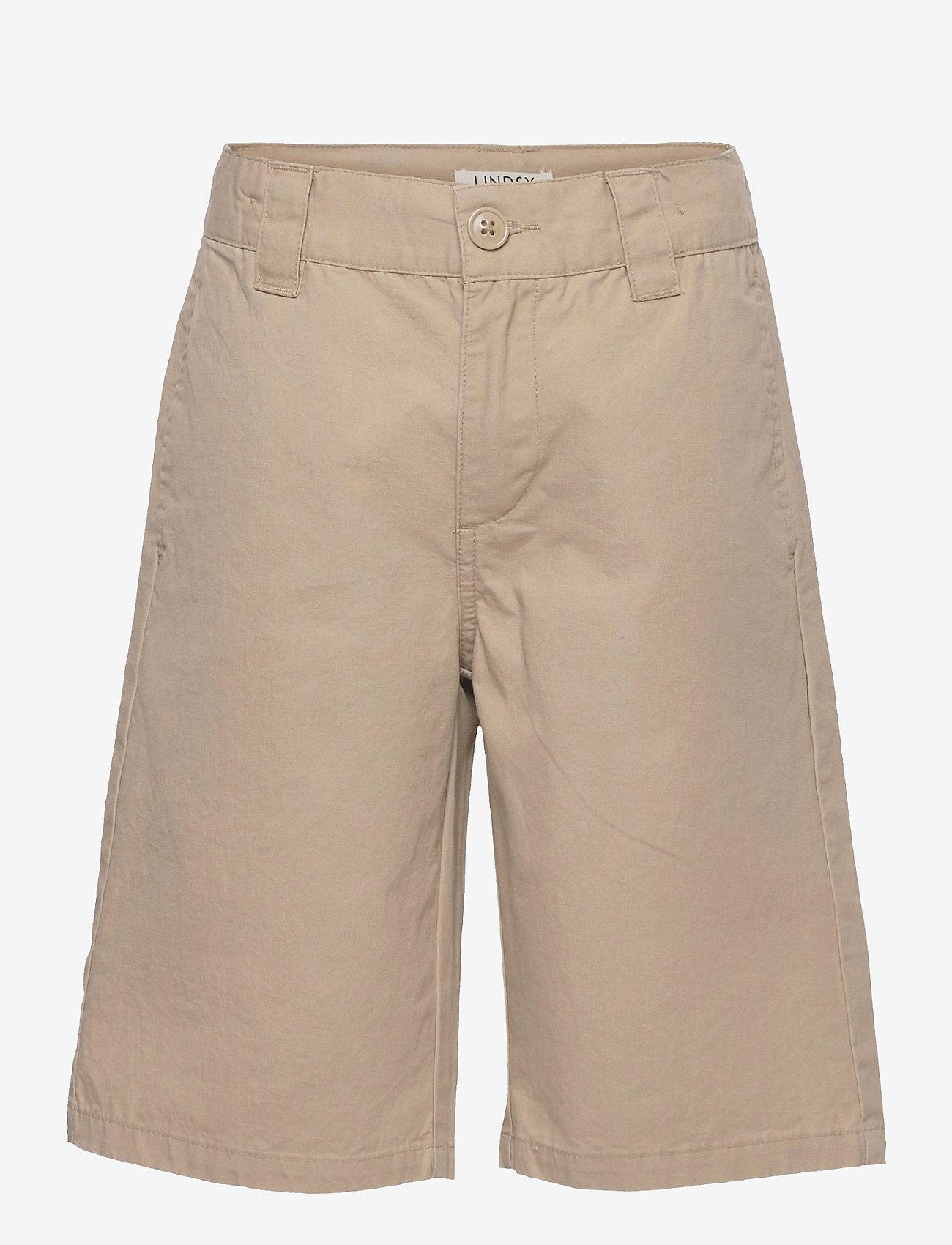 Lindex - Shorts skatefit  wide leg - shorts - beige - 0