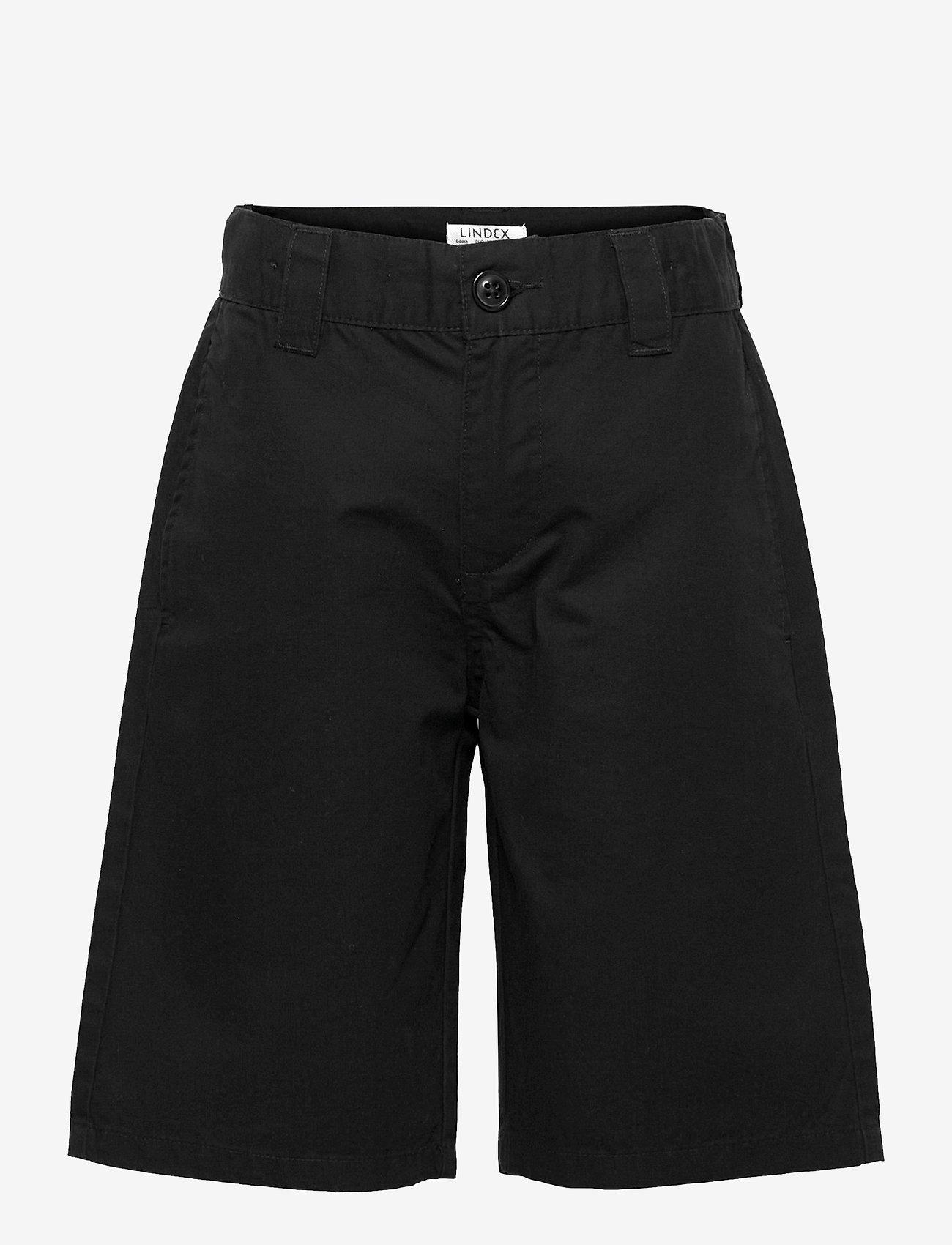 Lindex - Shorts skatefit  wide leg - shorts - black - 0