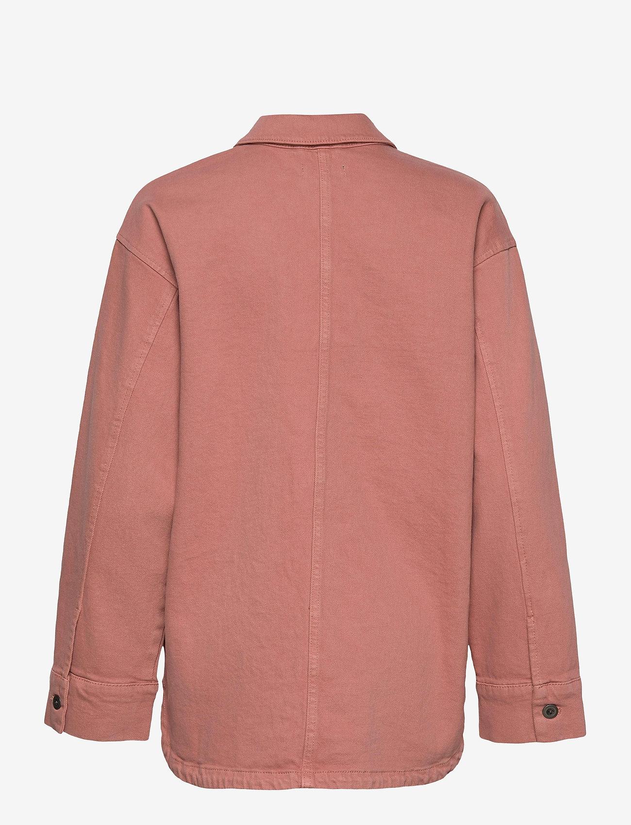 Lindex - Jacket Frida - jeansjacken - pink - 1