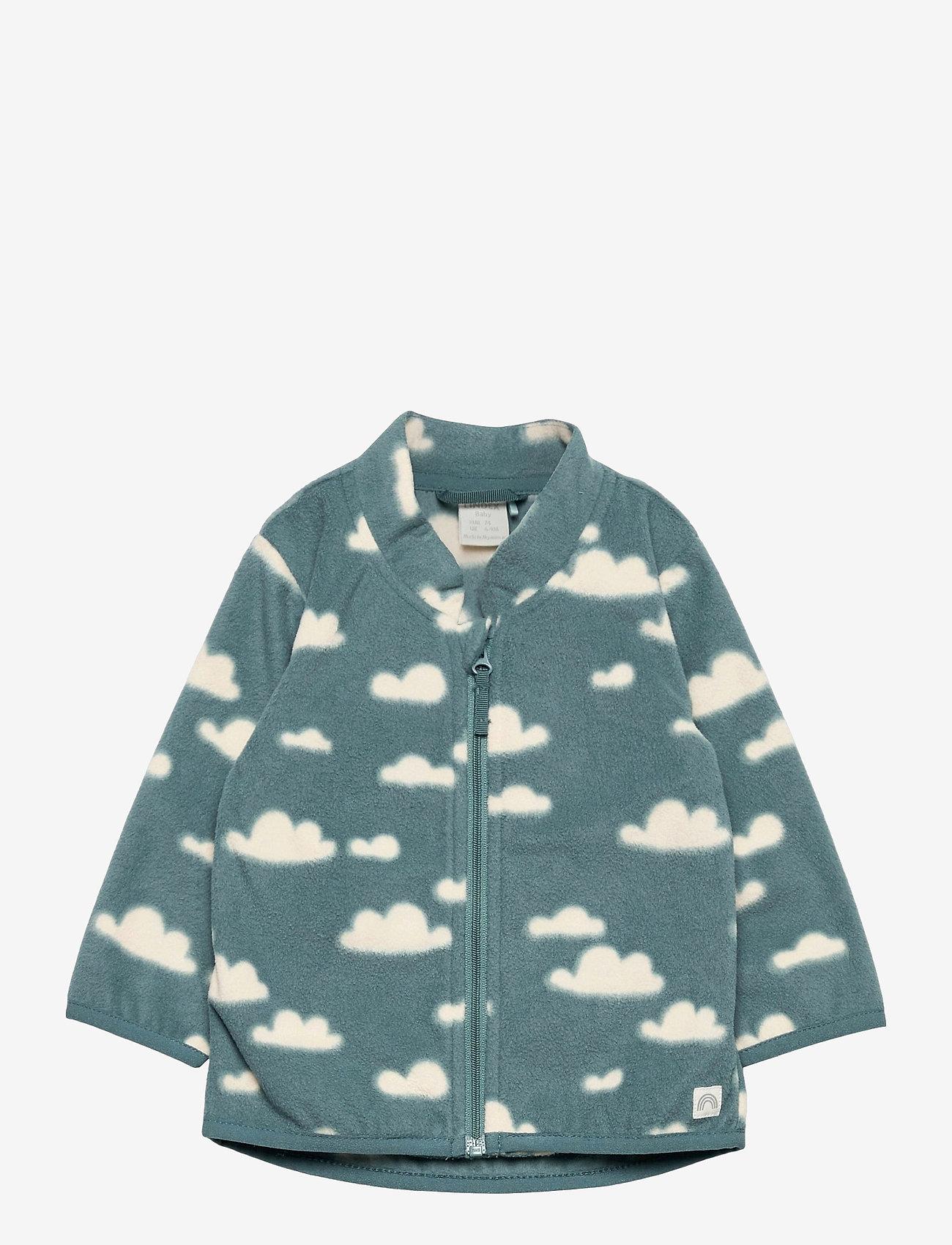 Lindex - Jacket fleece - fleecetøj - turquoise - 0