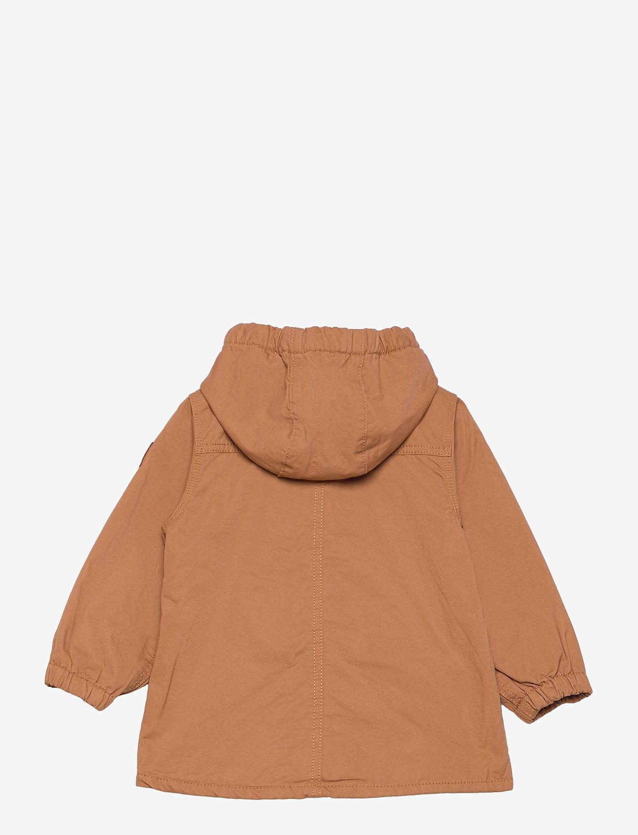 Lindex - Jacket cotton parka - parkas - brown - 1